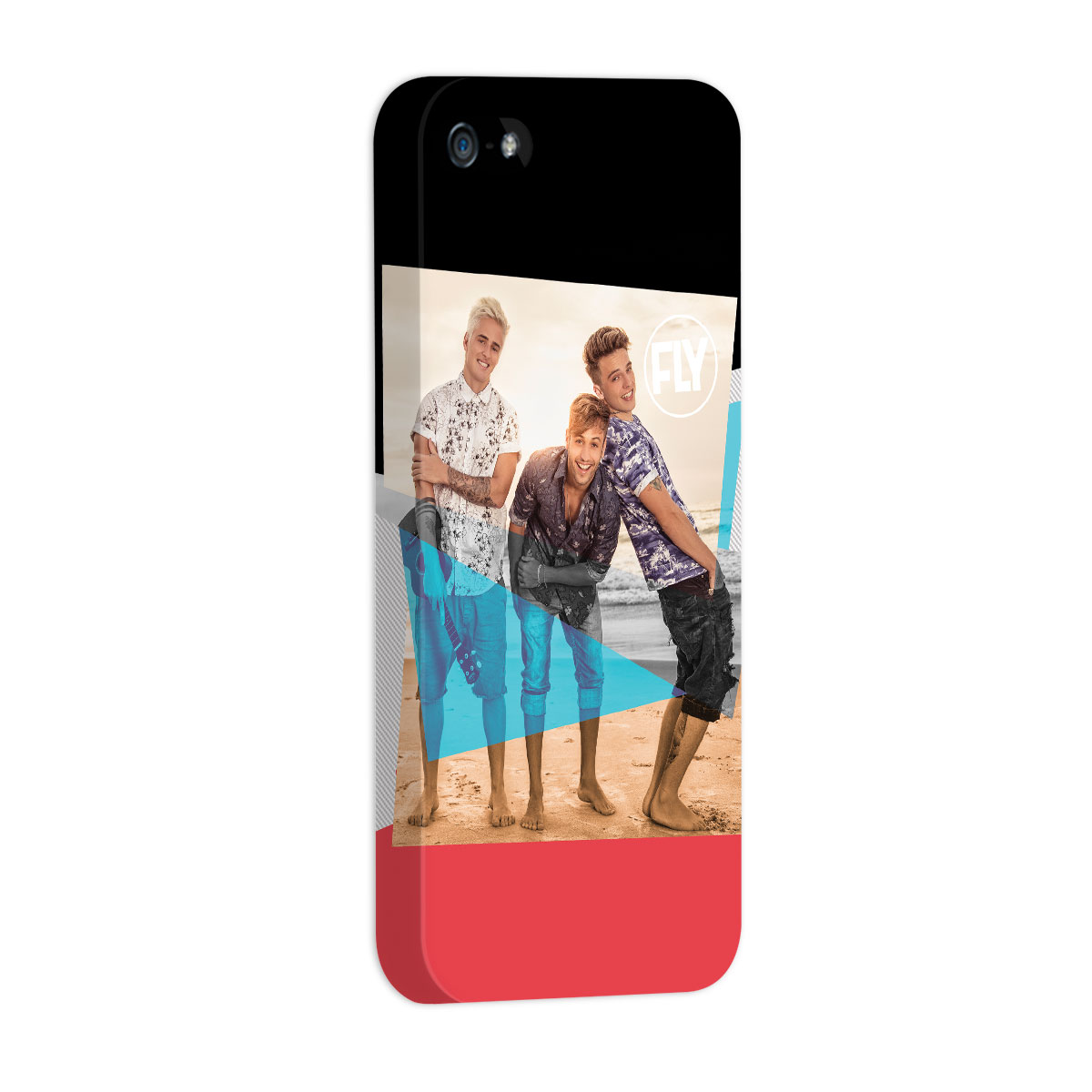 Capa para iPhone 5/5S Banda Fly Foto Colors