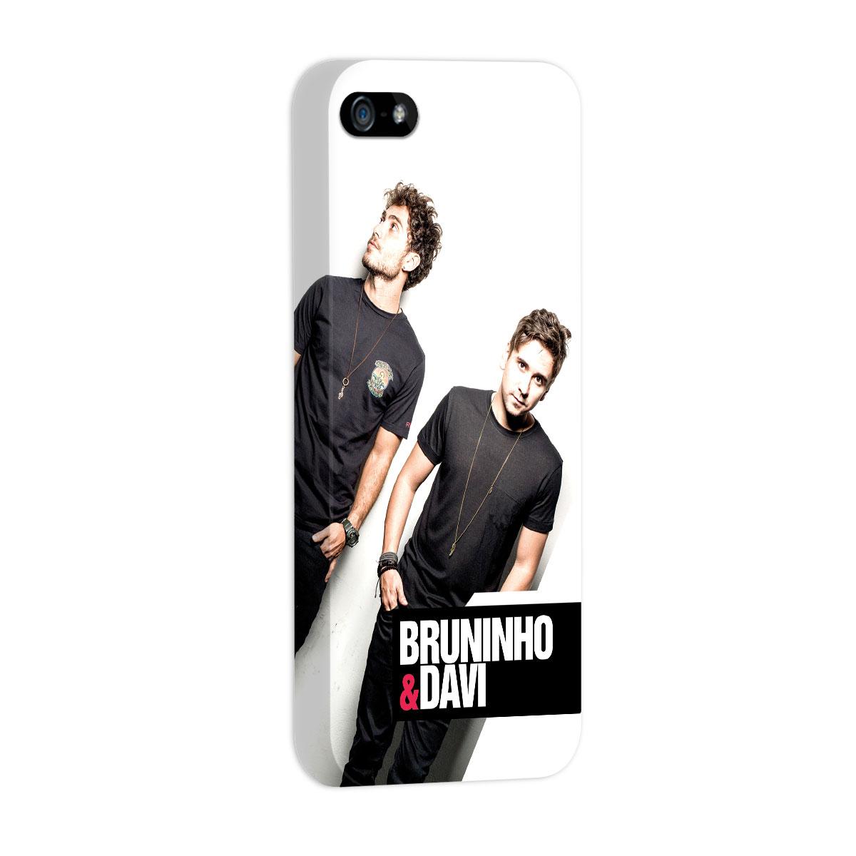 Capa para iPhone 5/5S Bruninho & Davi Foto