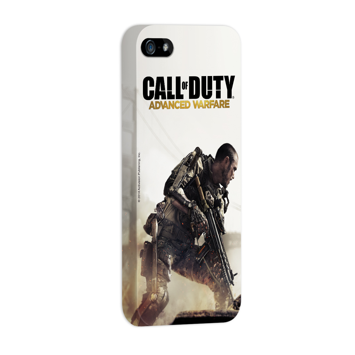 Capa Para iPhone 5/5S Call Of Duty Soldier