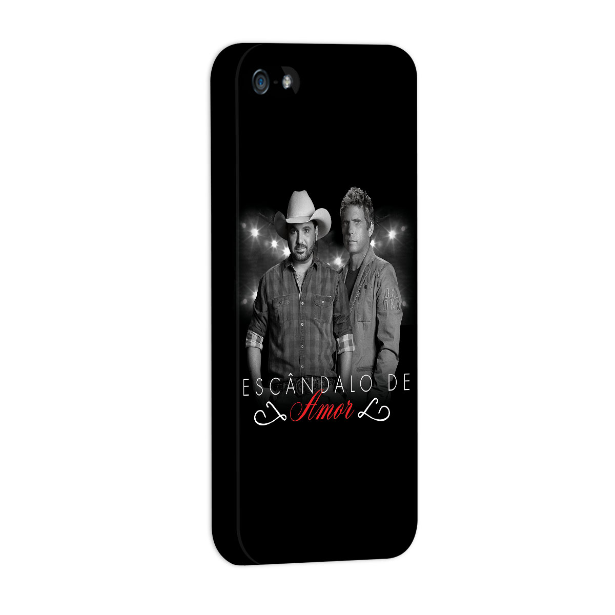 Capa para iPhone 5/5S Edson & Hudson Escândalo de Amor Foto