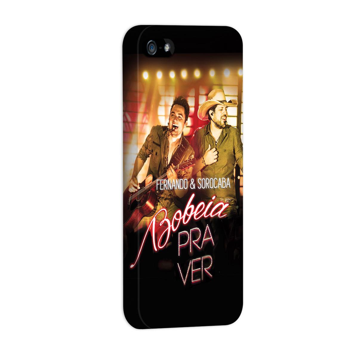 Capa para iPhone 5/5S Fernando & Sorocaba Bobeia Pra Ver