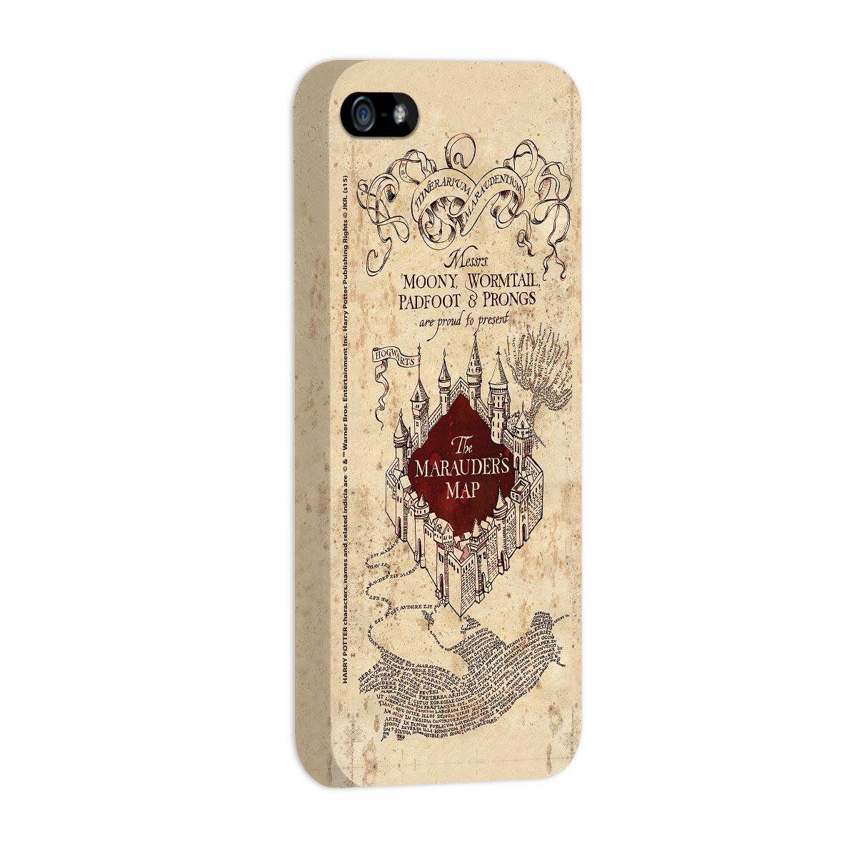 Capa para iPhone 5/5S Harry Potter The Marauder´s Map