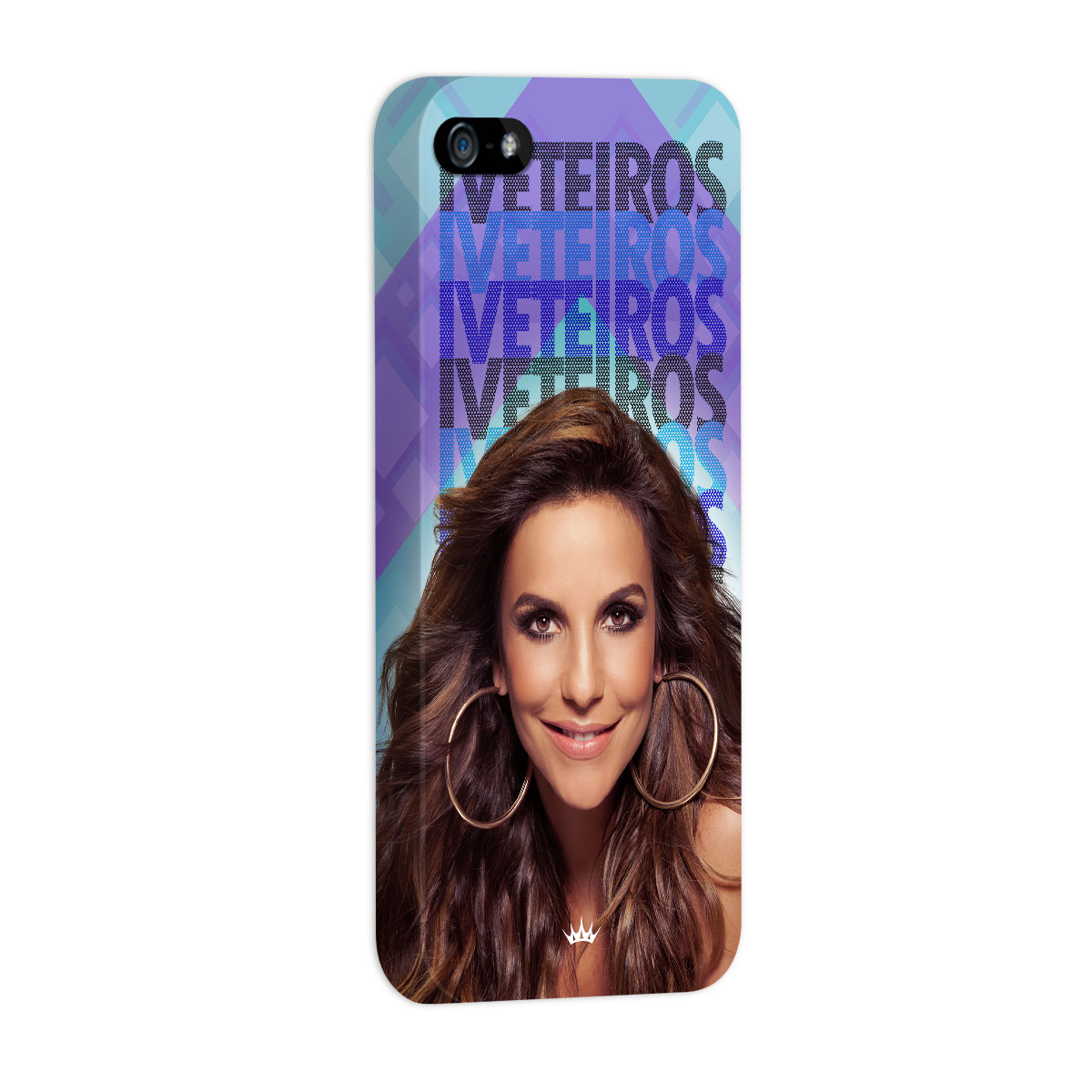 Capa para iPhone 5/5S Ivete Sangalo Iveteiros