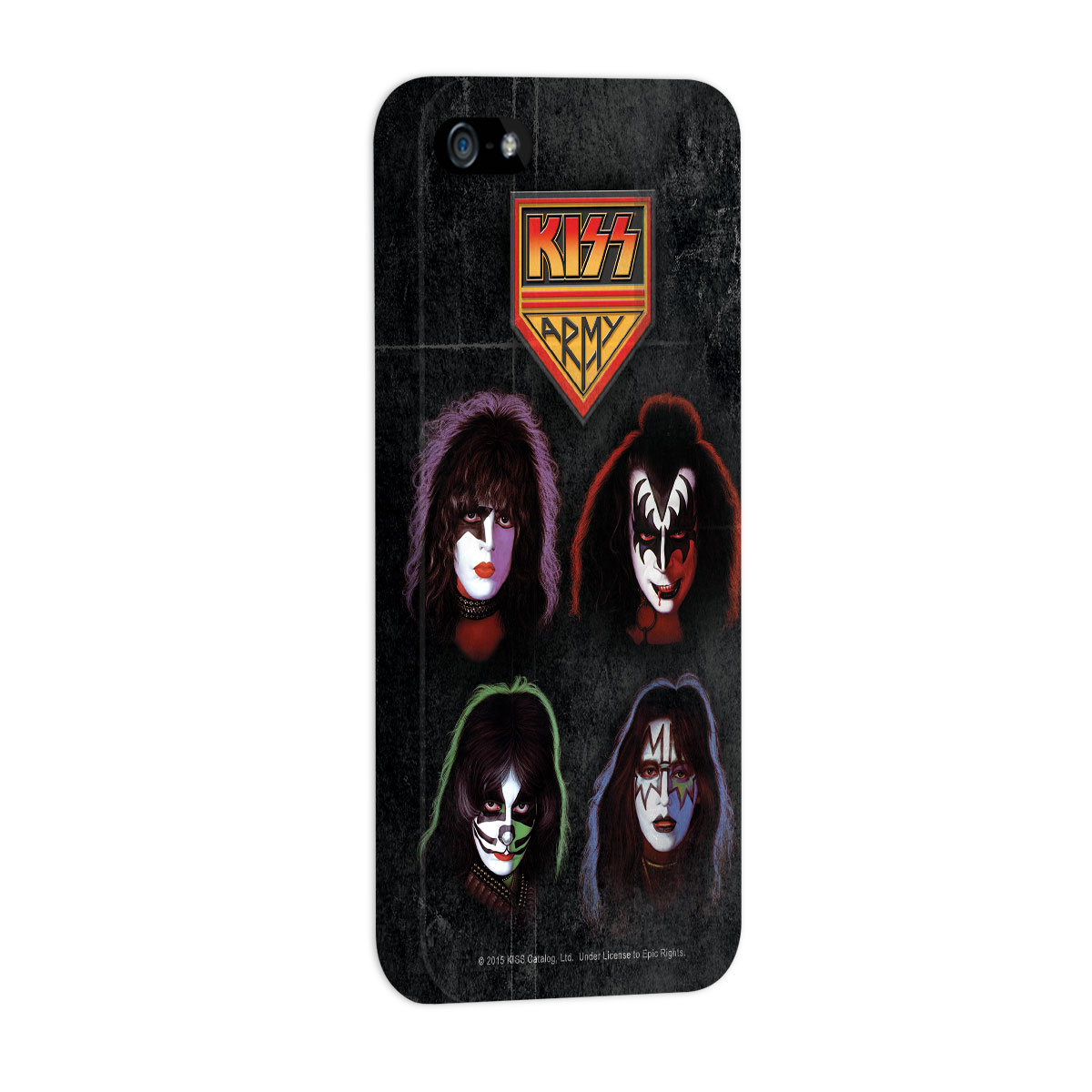 Capa para iPhone 5/5S Kiss Army