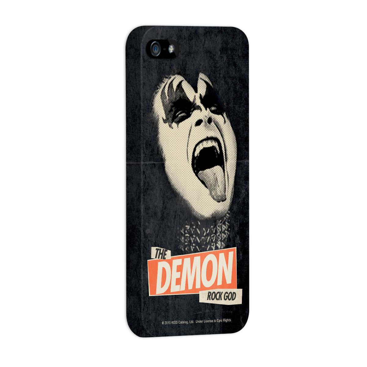 Capa para iPhone 5/5S Kiss Rock God