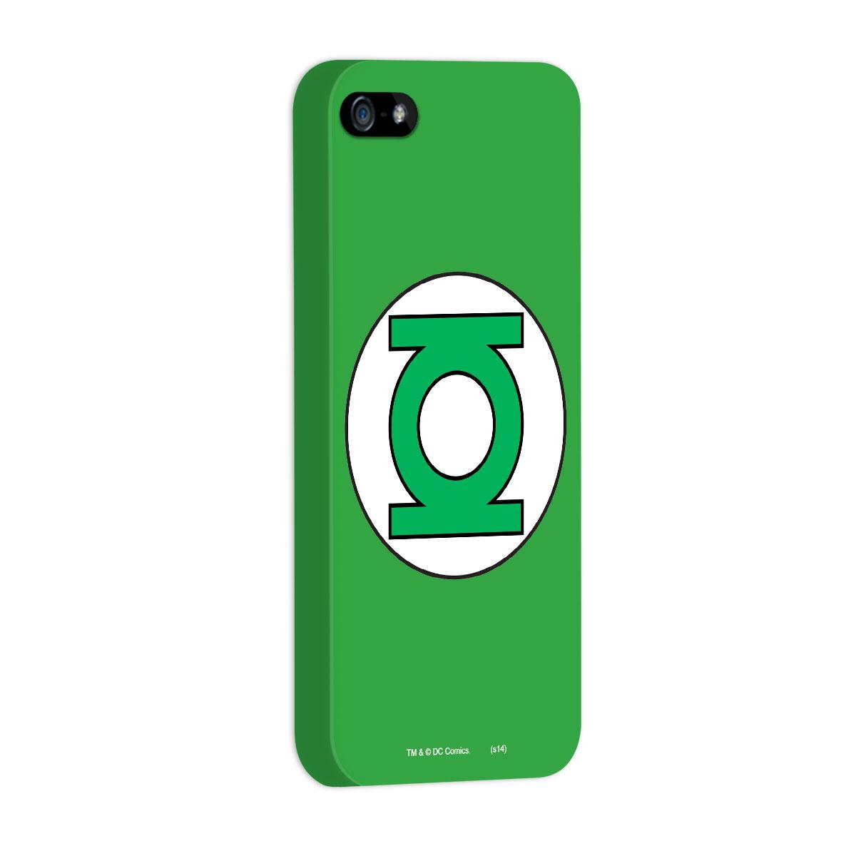 Capa para iPhone 5/5S Lanterna Verde Logo