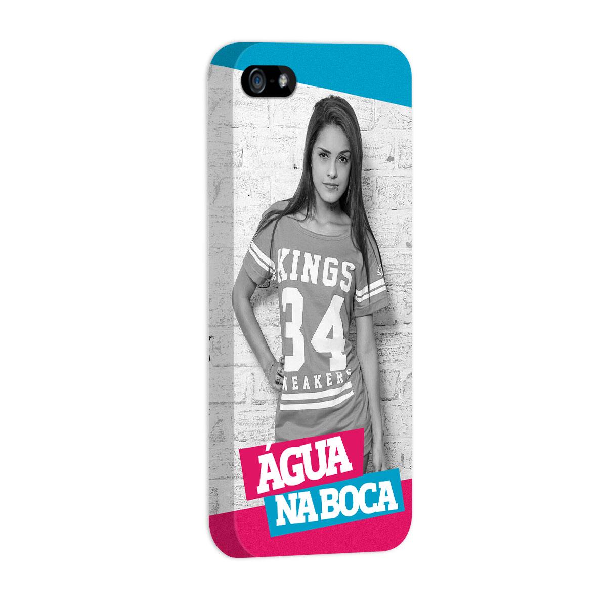 Capa para iPhone 5/5S MC Tati Zaqui �gua na Boca