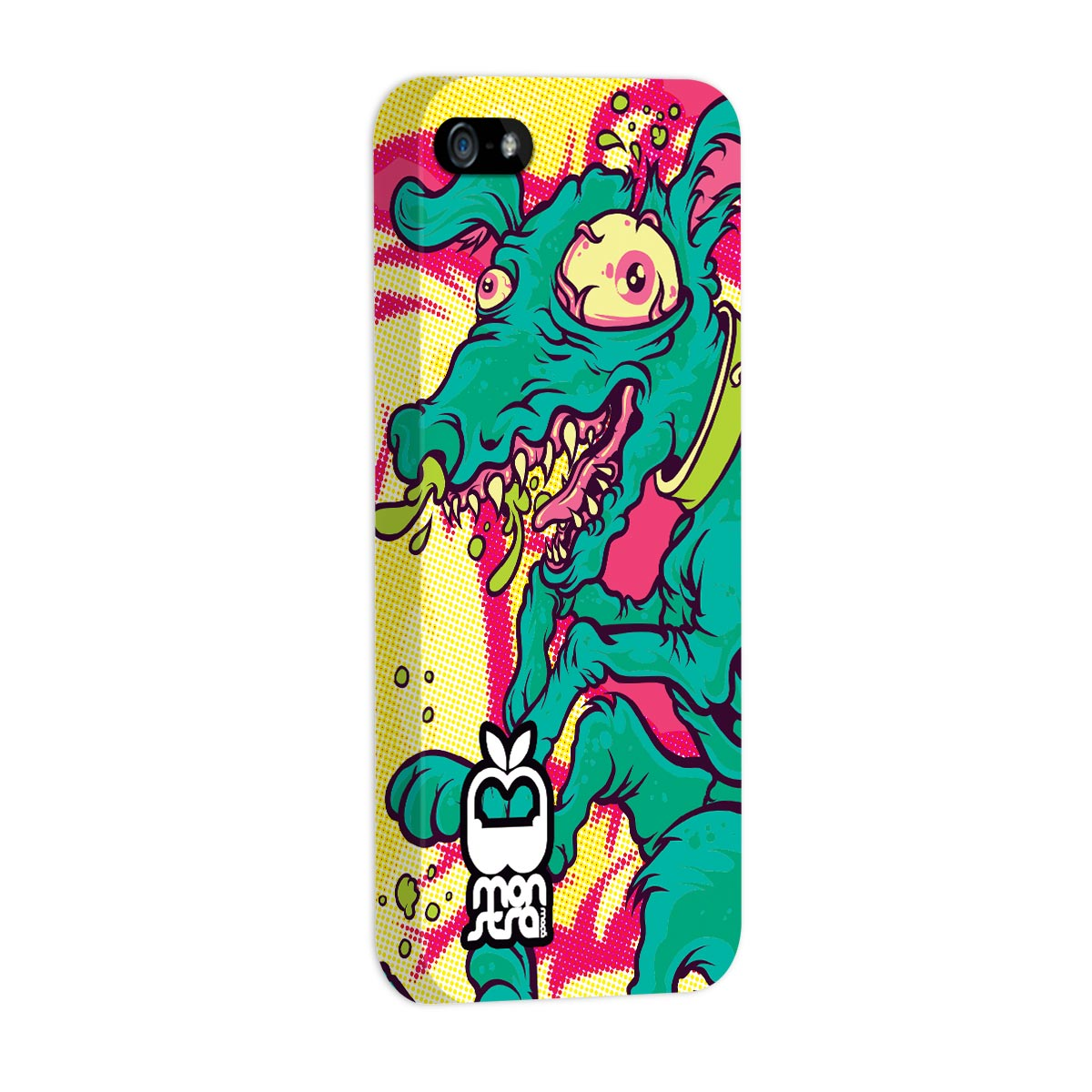 Capa para iPhone 5/5S Monstra Ma�� Crazy Dog