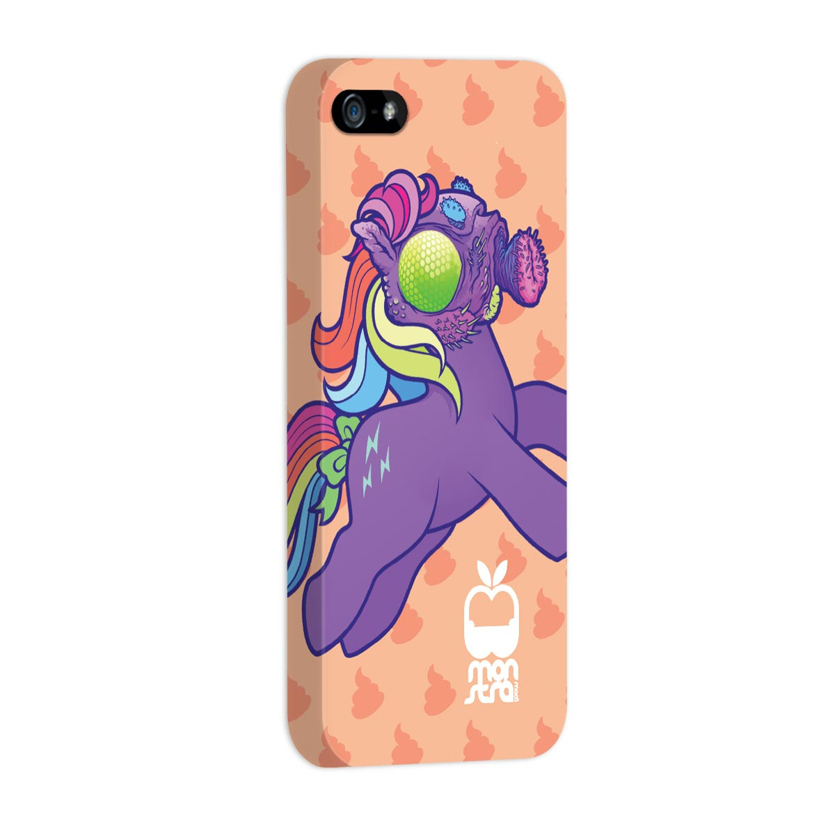 Capa para iPhone 5/5S Monstra Ma�� My Little Monster