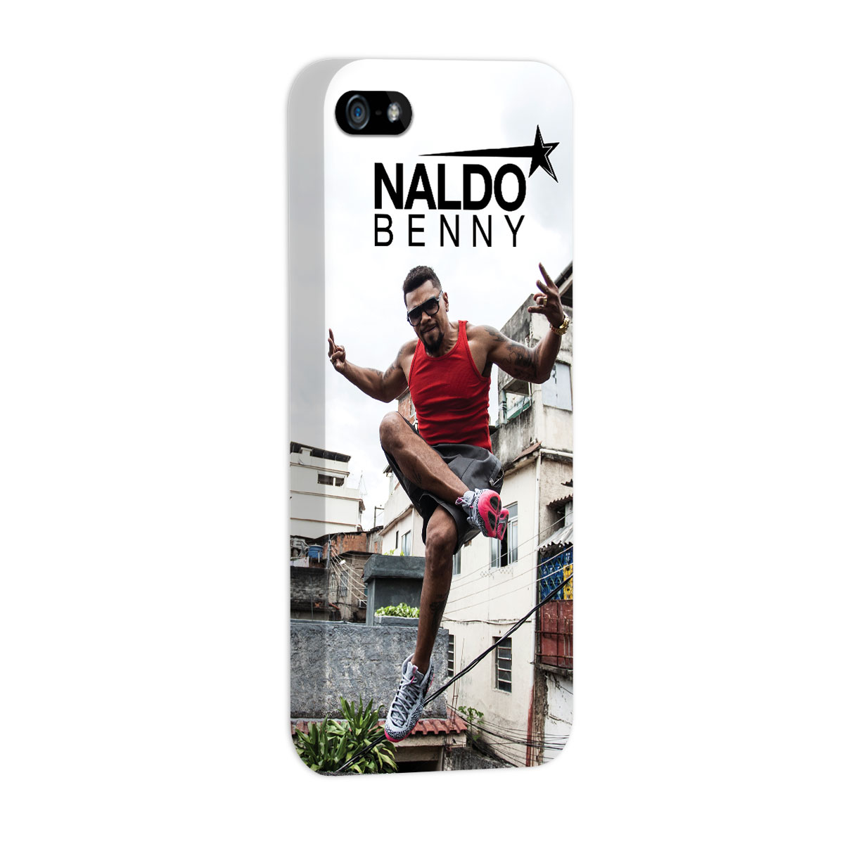 Capa para iPhone 5/5S Naldo Benny Jump