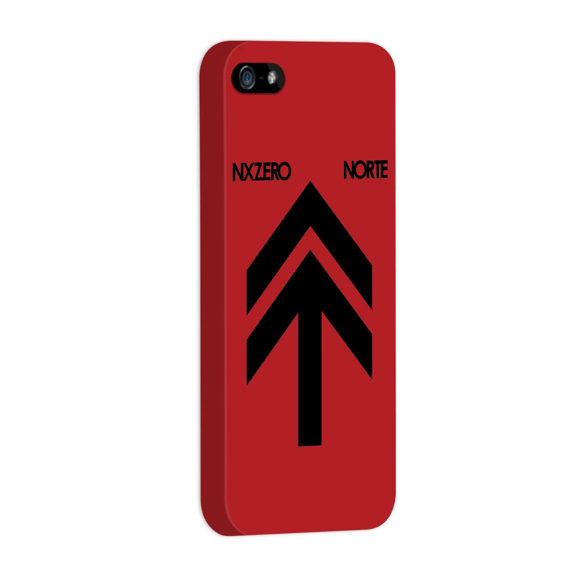 Capa Para iPhone 5/5S NXZero Capa Norte