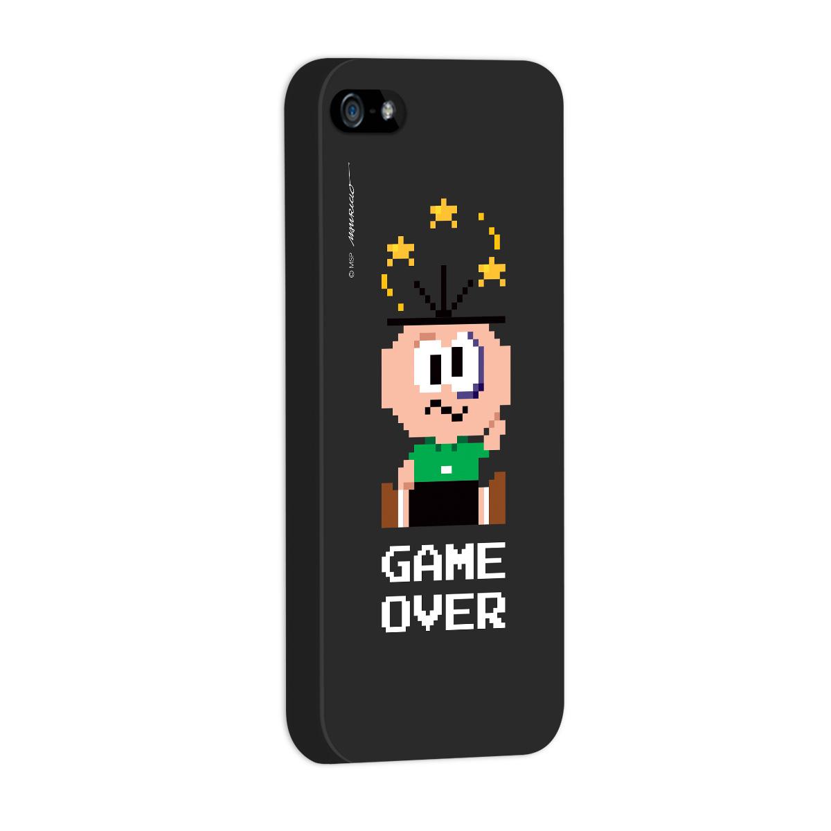Capa para iPhone 5/5S Turma da Mônica Cebolinha Game Over