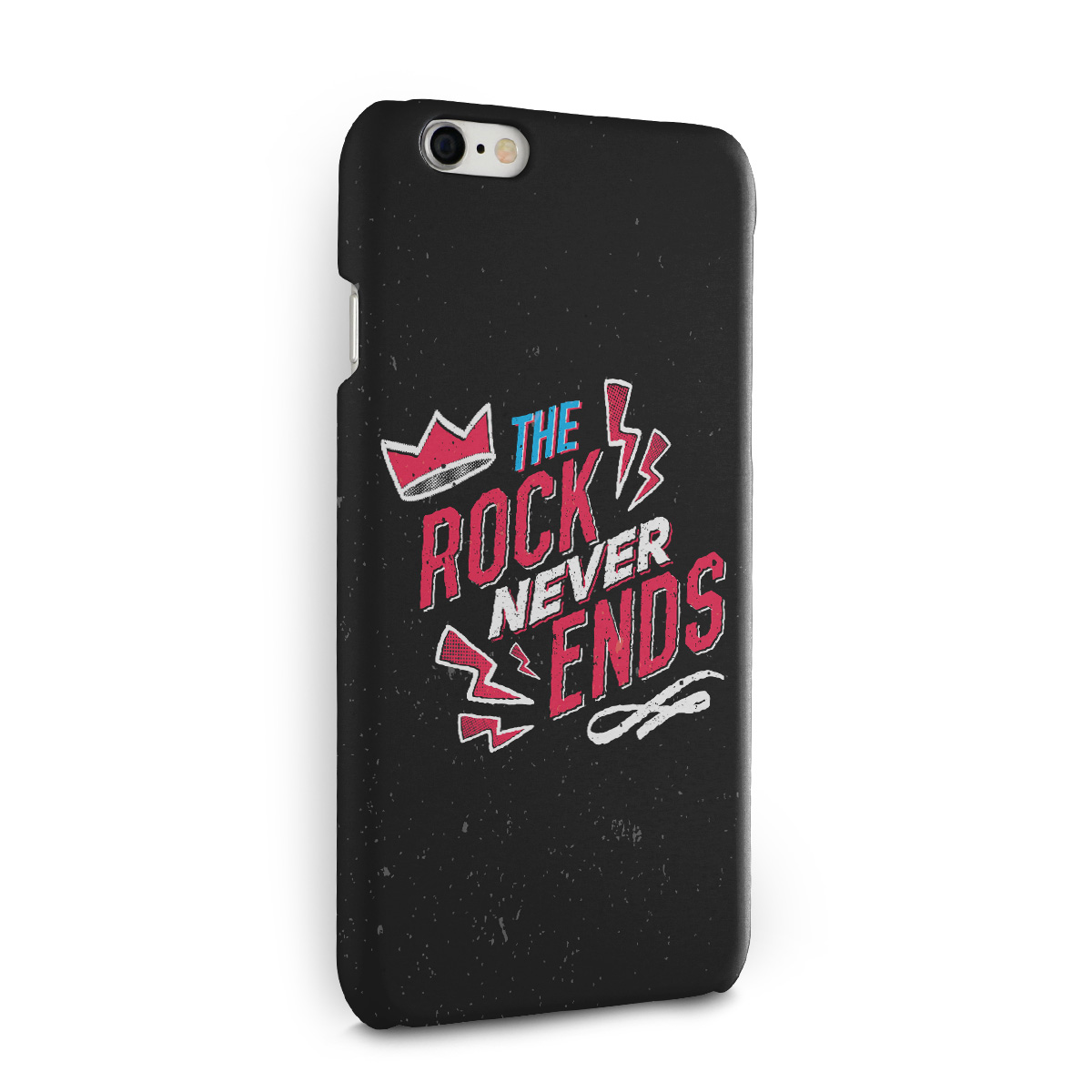 Capa para iPhone 6/6S 89FM A R�dio Rock 30 Anos The Rock Never Ends