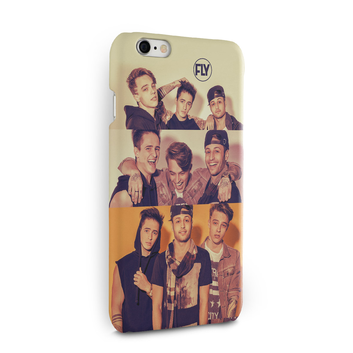 Capa para iPhone 6/6S Banda Fly Pictures