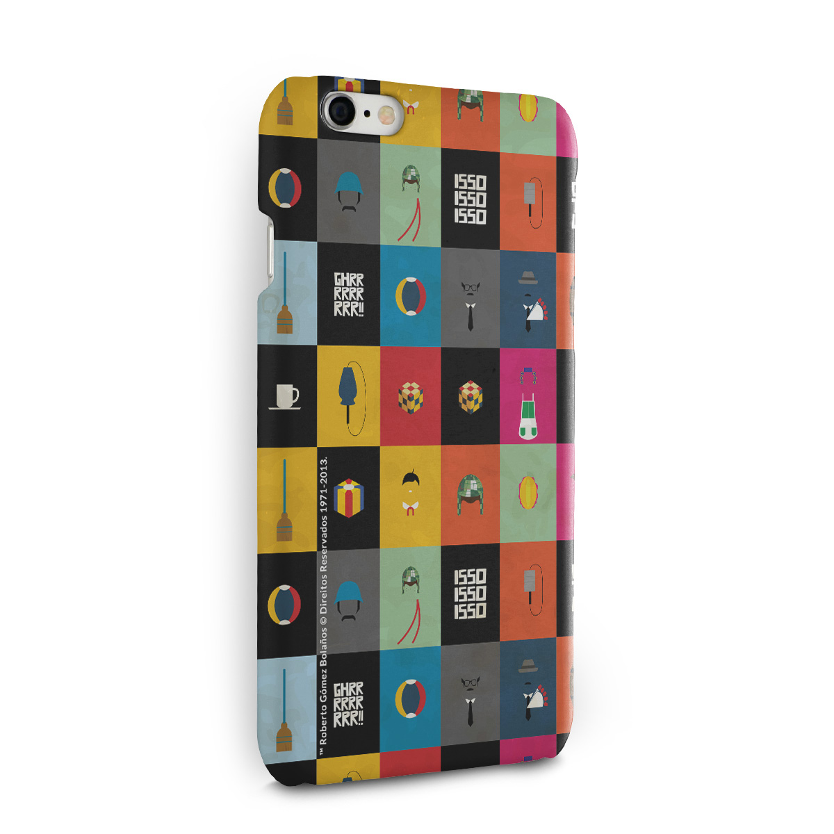 Capa para iPhone 6/6S Chaves �cones Vintage