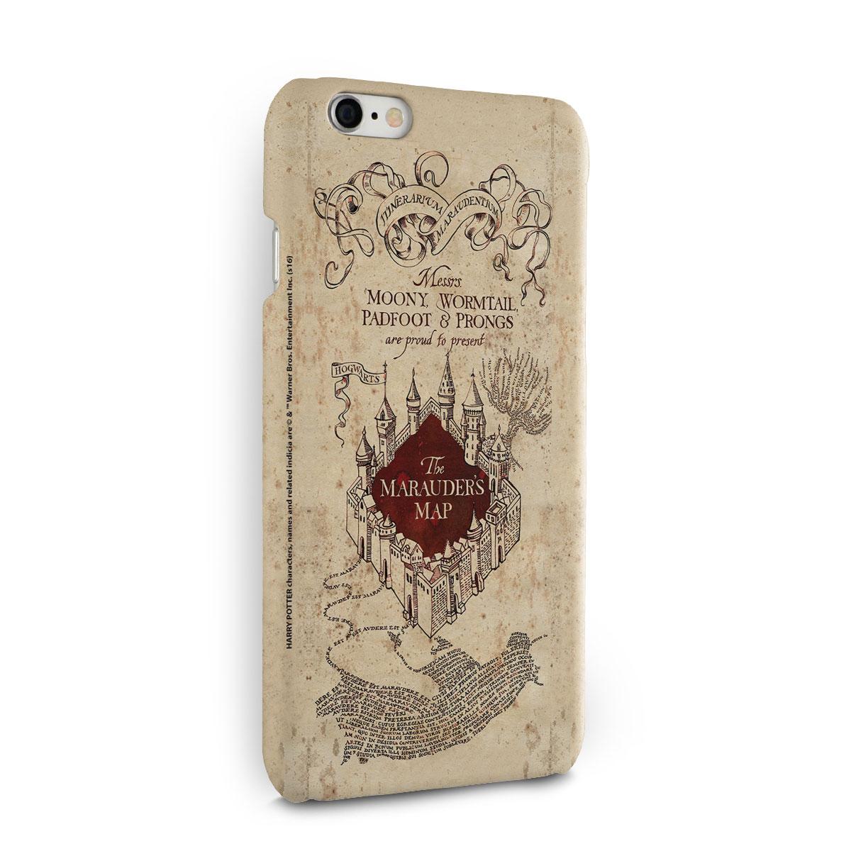 Capa para iPhone 6/6S Harry Potter The Marauder�s Map
