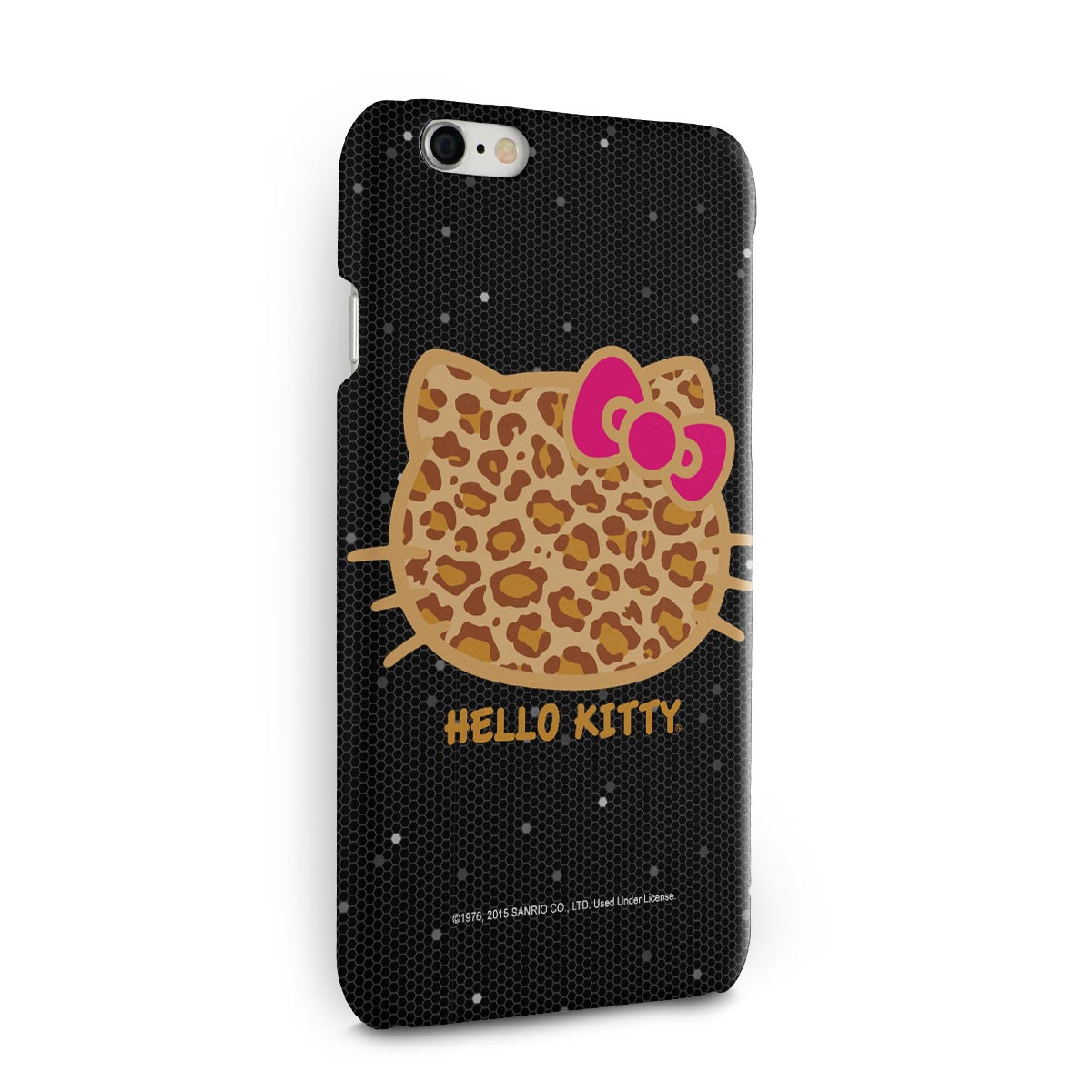 Capa para iPhone 6/6S Hello Kitty Print Fuzzy
