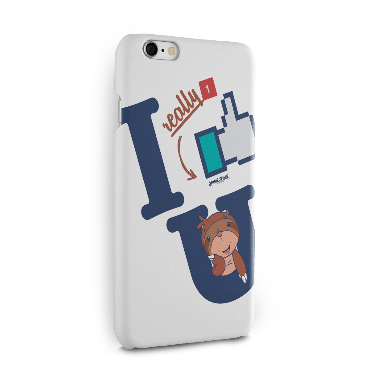 Capa para iPhone 6/6S Jaime I Like You