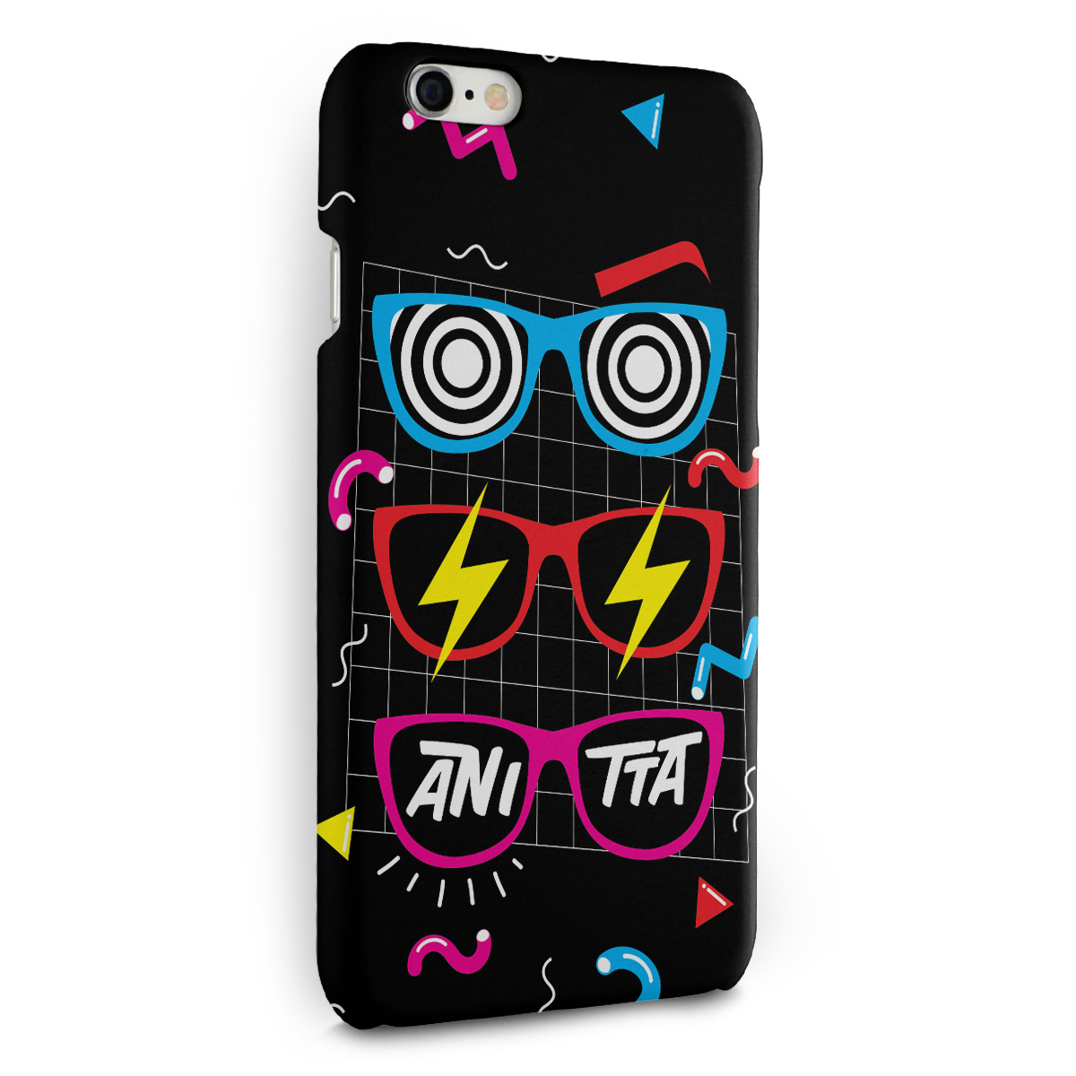 Capa para iPhone 6/6S Plus Anitta Glasses