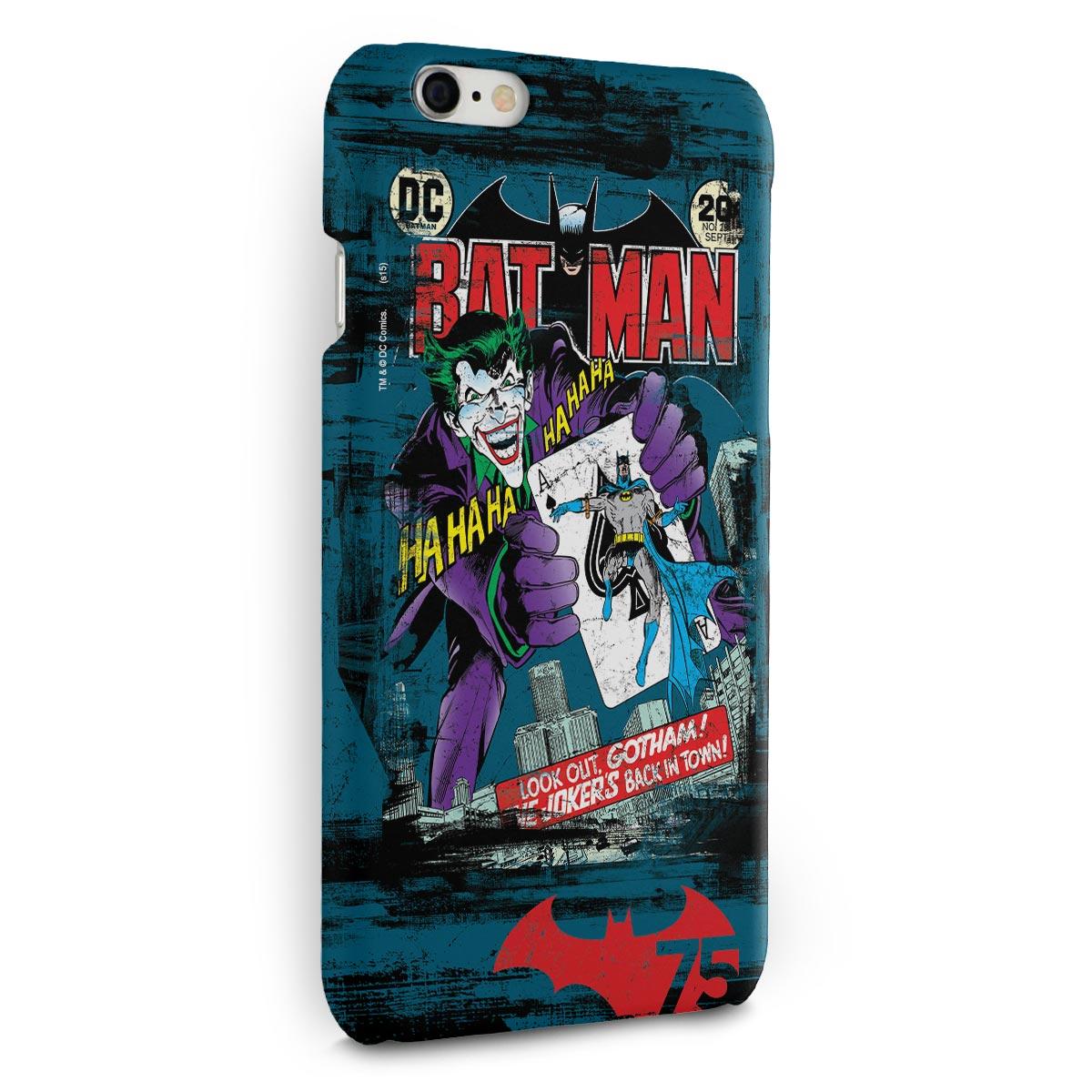 Capa para iPhone 6/6S Plus Batman 75 Anos HQ n°251