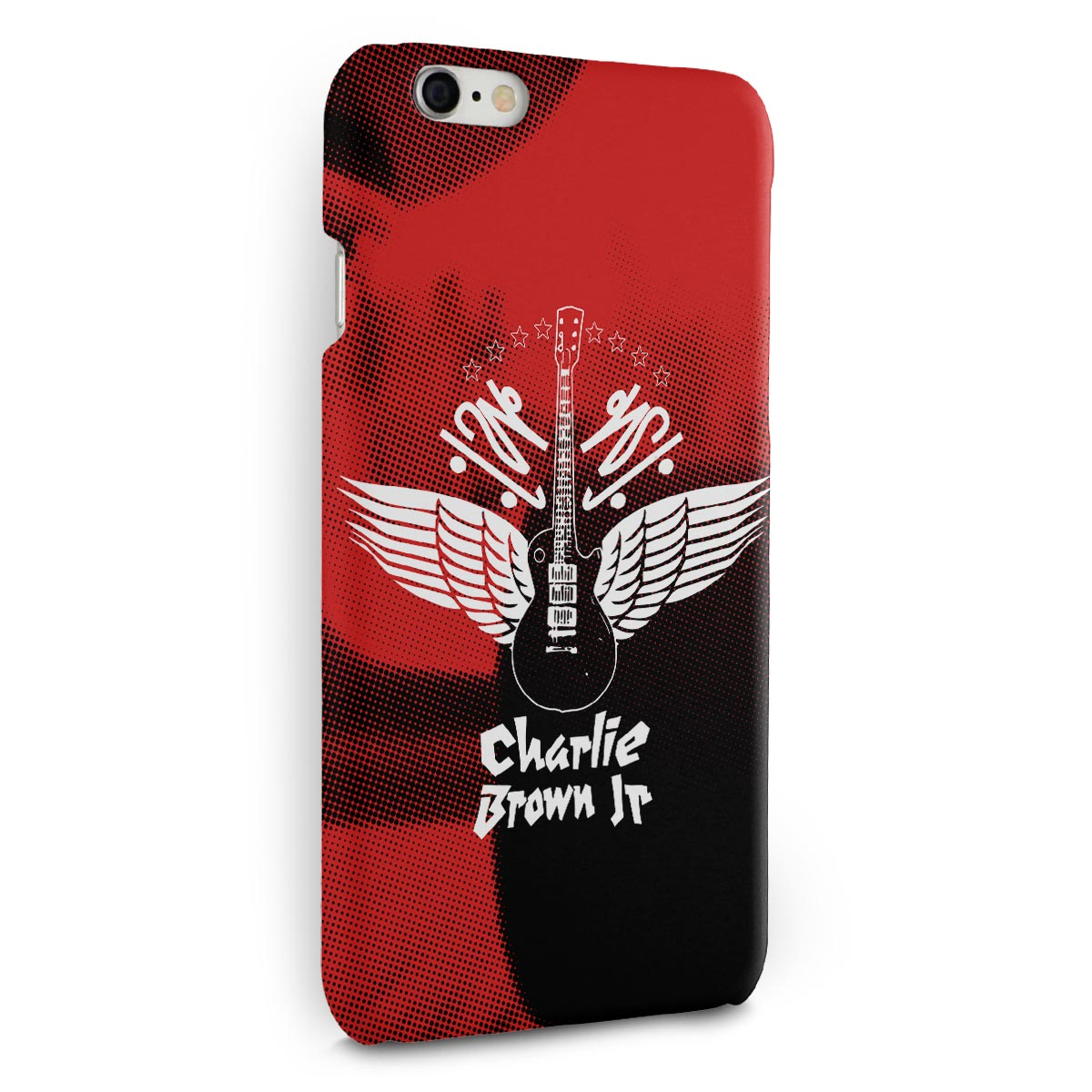 Capa para iPhone 6/6S Plus Charlie Brown Jr. Imunidade Musical
