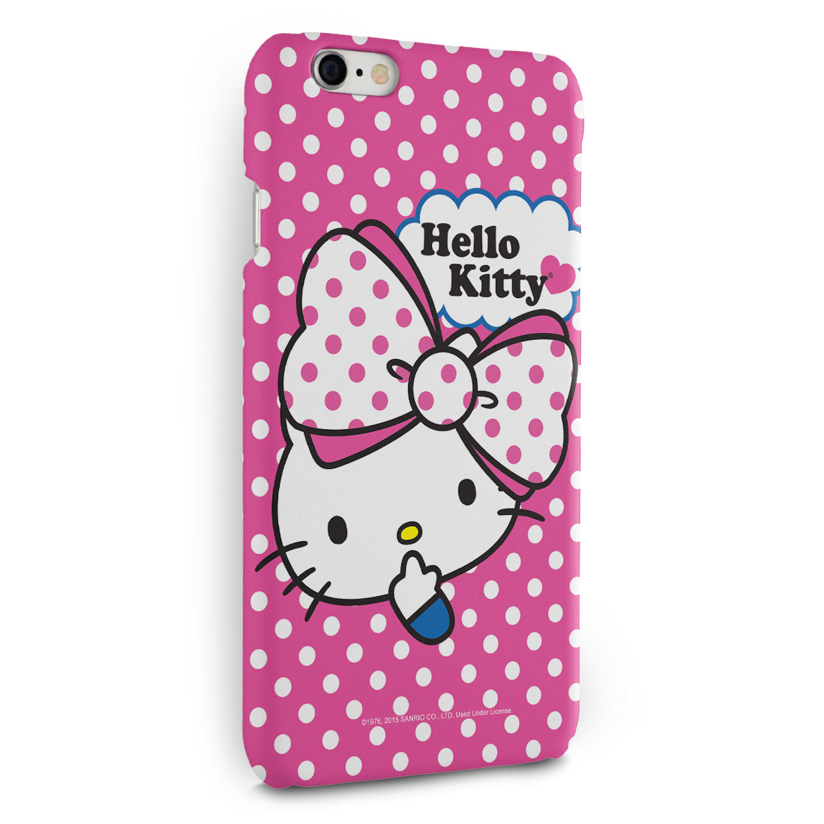 Capa para iPhone 6/6S Plus Hello Kitty Big Ribbon