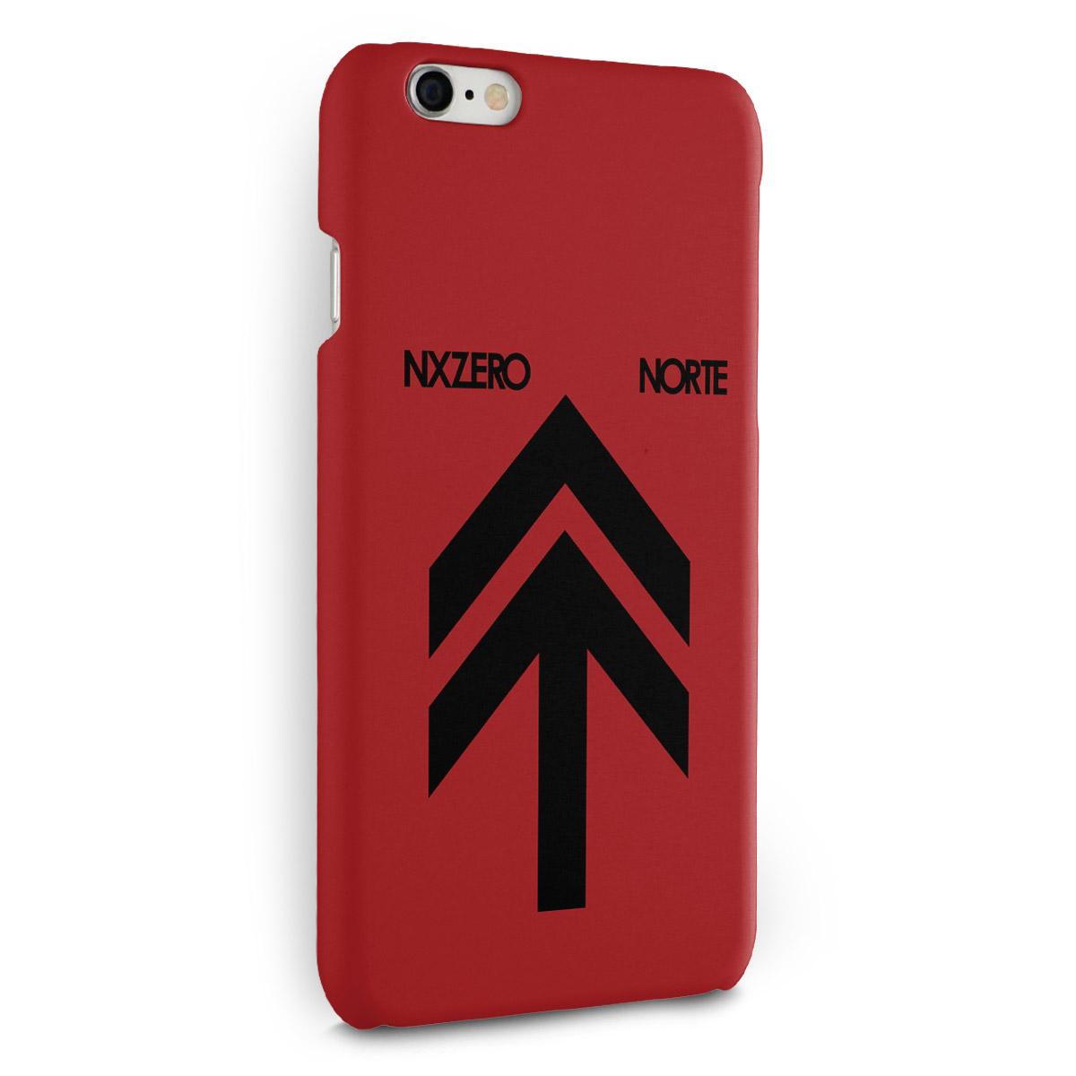 Capa para iPhone 6/6S Plus NXZero Capa Norte