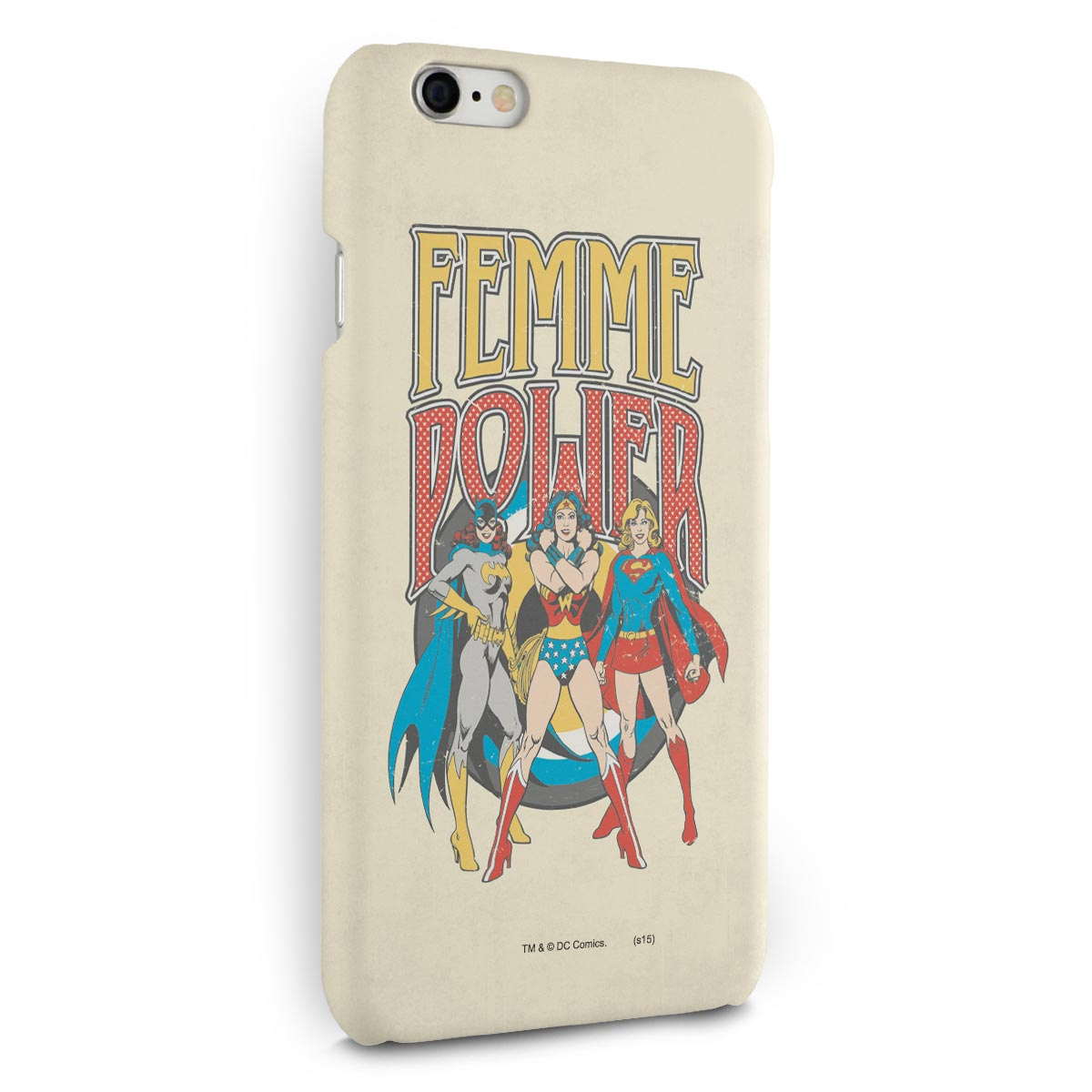 Capa para iPhone 6/6S Plus Power Girls Femme Power