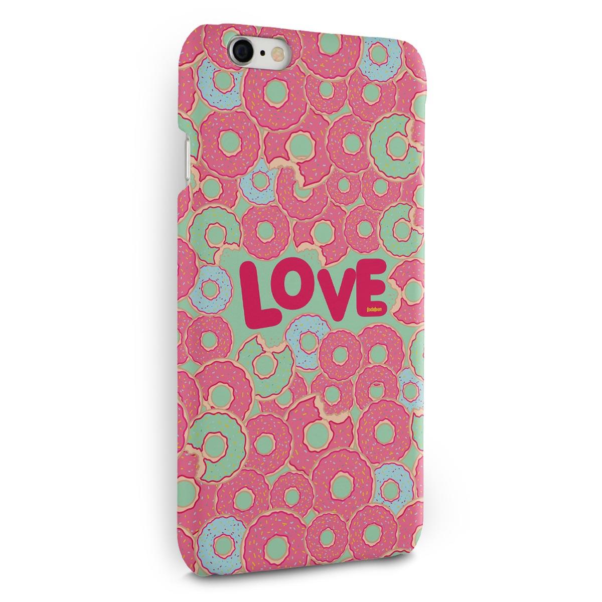 Capa para iPhone 6/6S Plus TodaTeen Love Donuts!