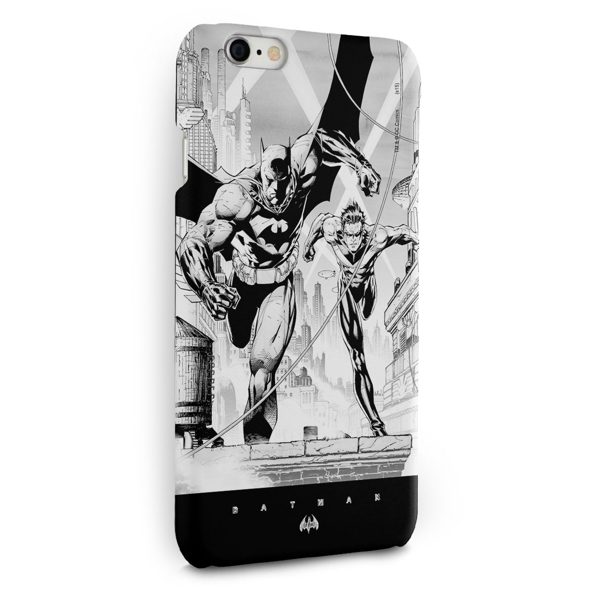 Capa para iPhone 6/6S Plus Tracing Batman e Robin