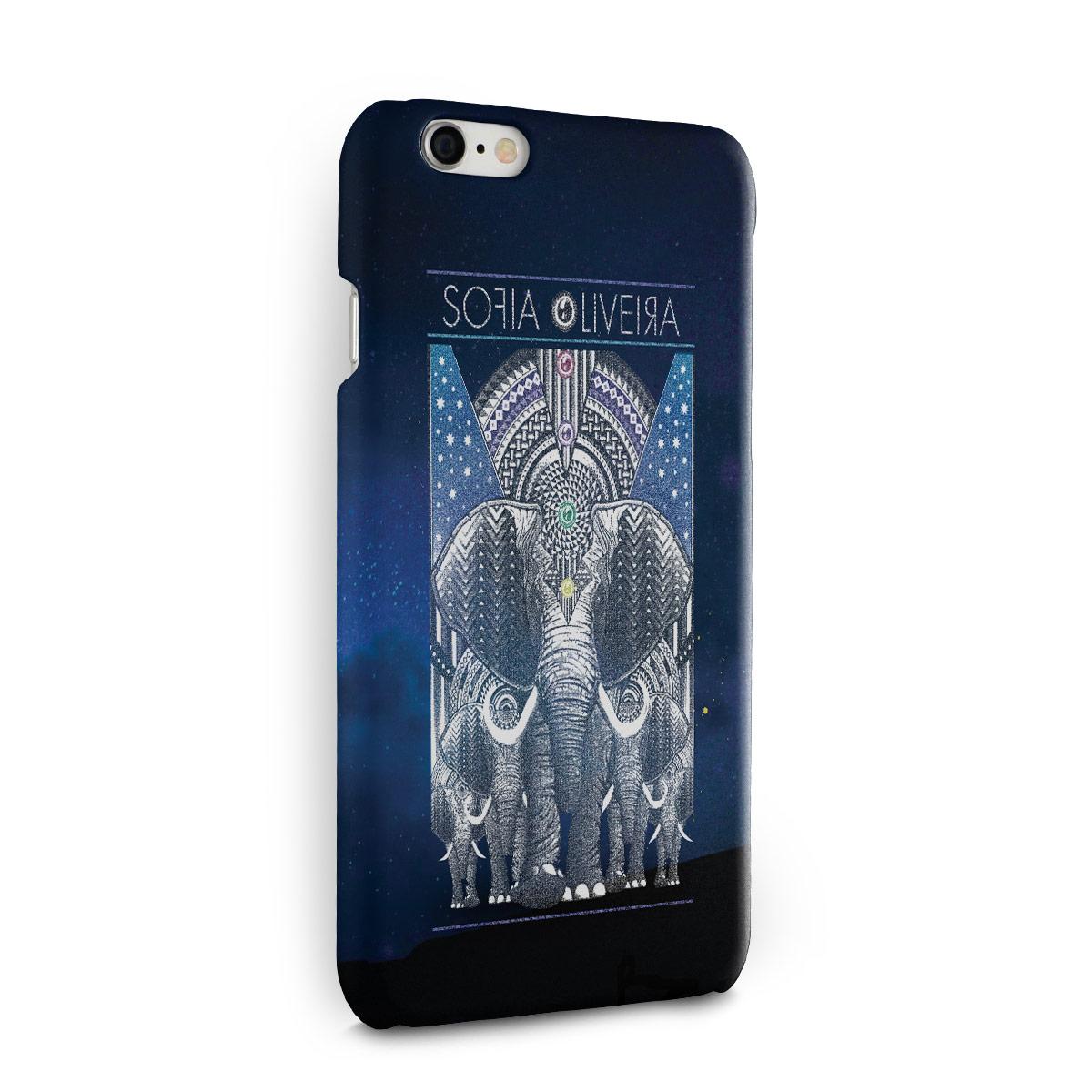 Capa para iPhone 6/6S Sofia Oliveira Elephant