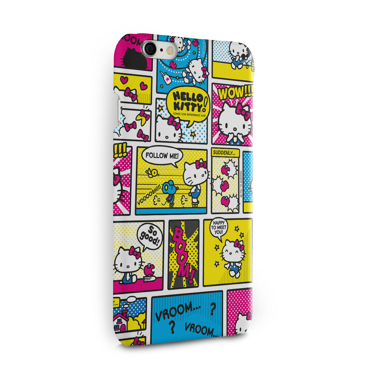 Capa para iPhone 6/6S Hello Kitty Comic Con HQ