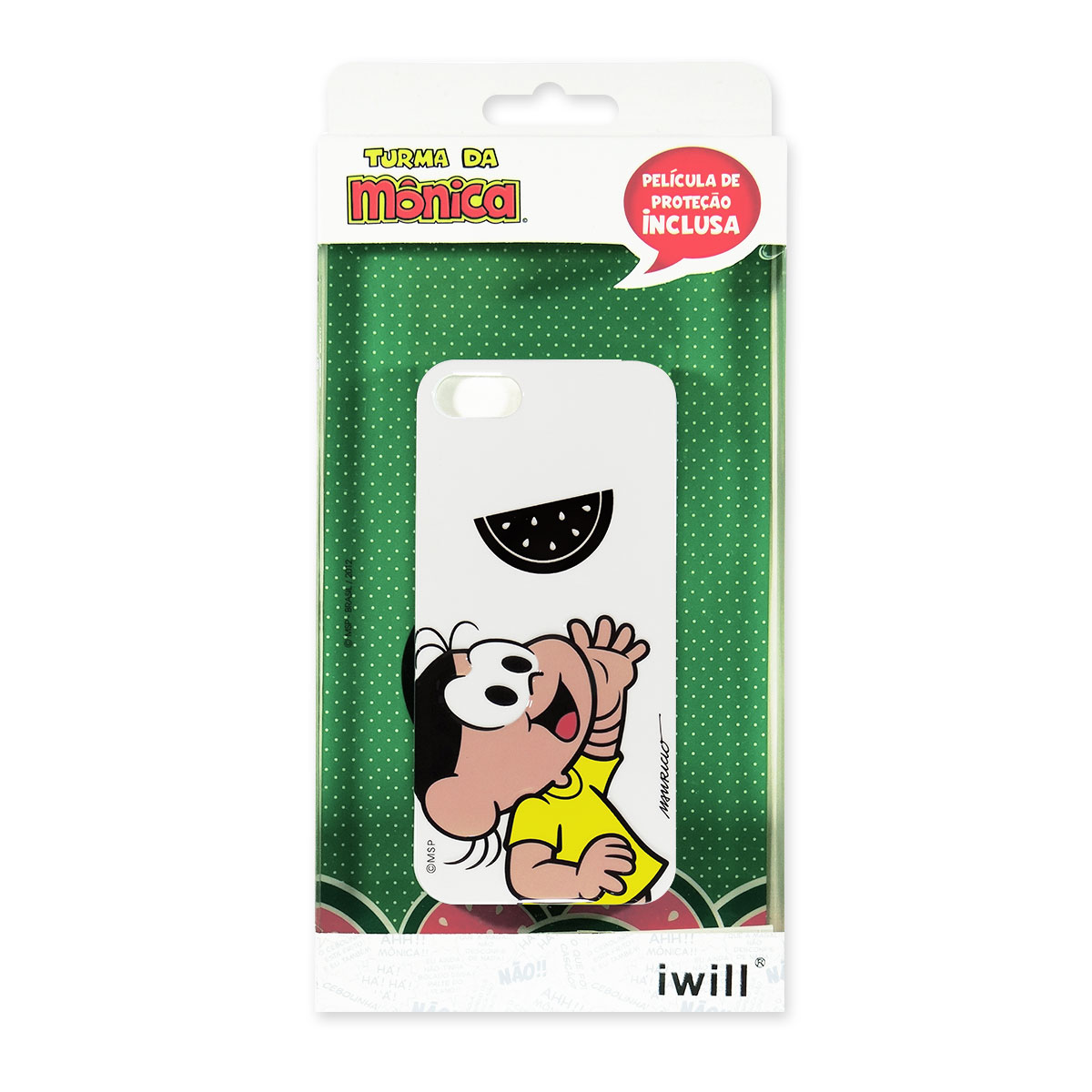 Capa Para iPhone Turma da Mônica Magali Modelo 1