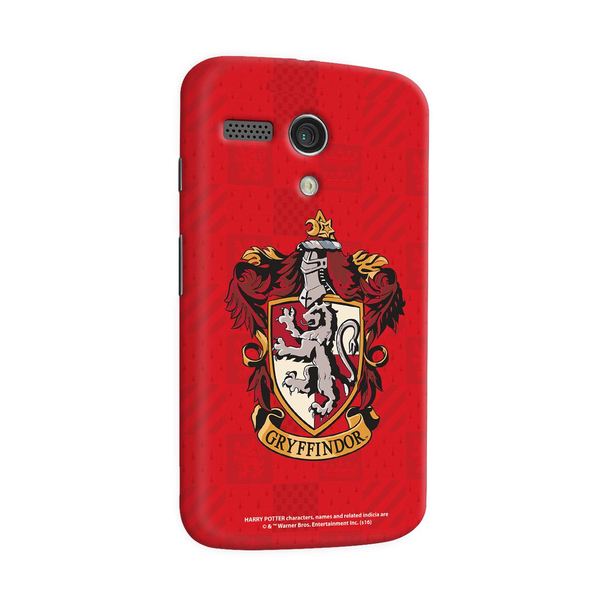 Capa para Motorola Moto G 1 Harry Potter Gryffindor