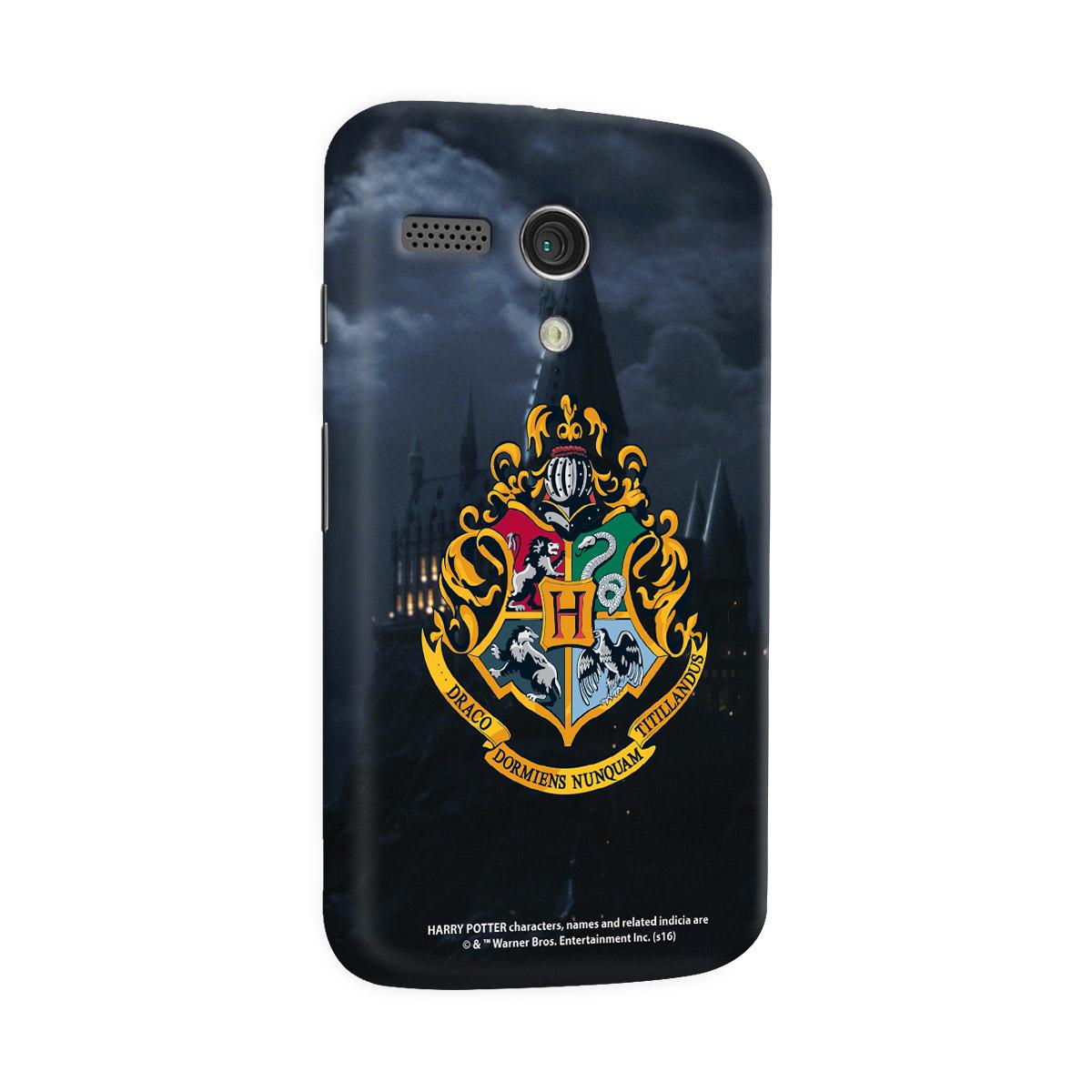 Capa para Motorola Moto G 1 Harry Potter Hogwarts