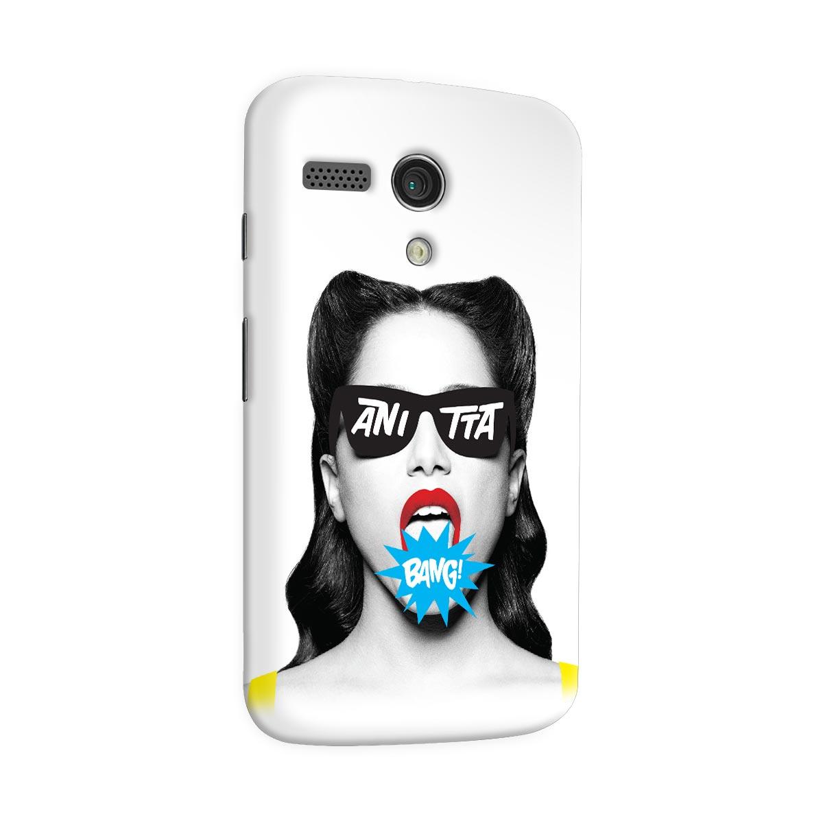 Capa para Motorola Moto G 1 Anitta Bang!