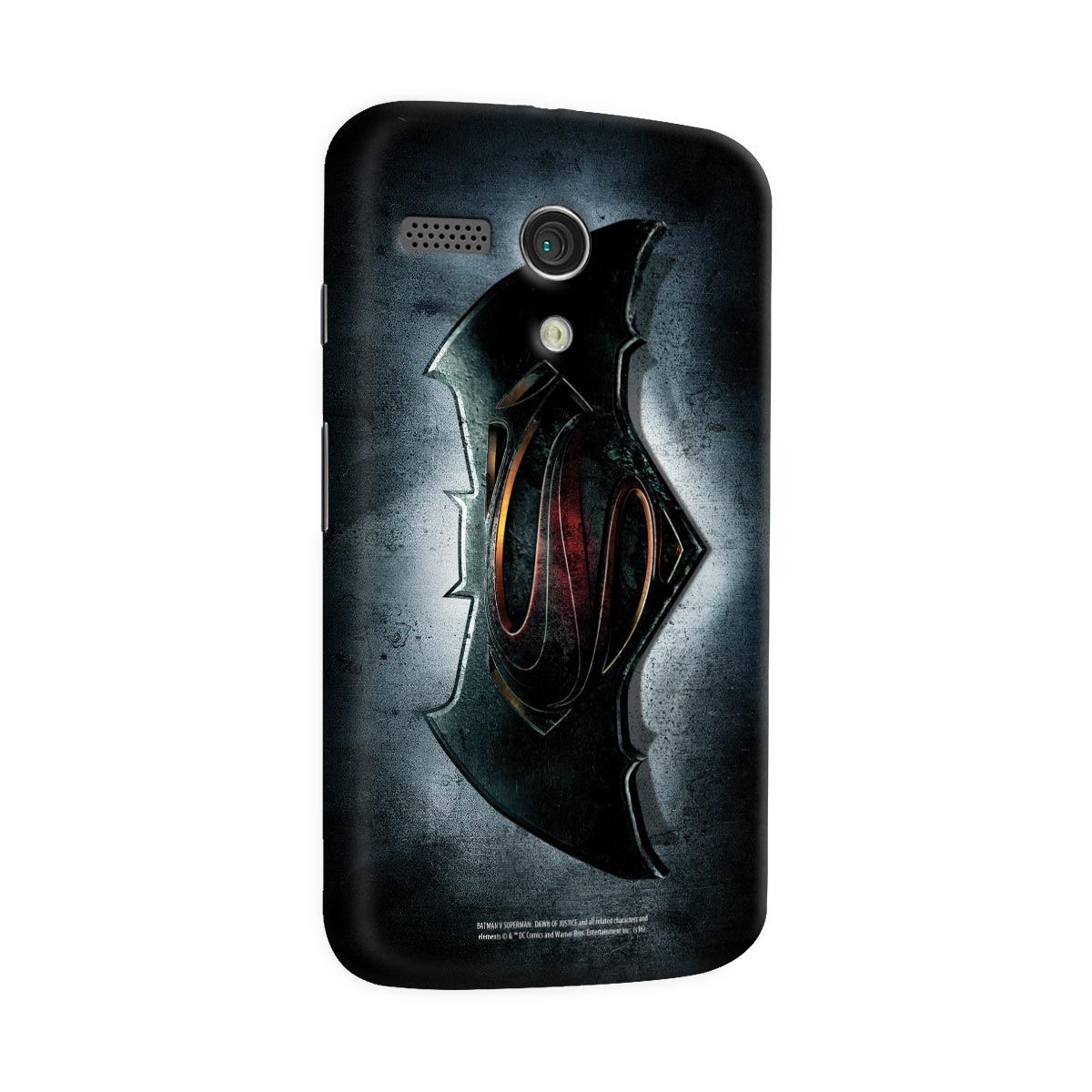 Capa para Motorola Moto G 1 Batman VS Superman Logo