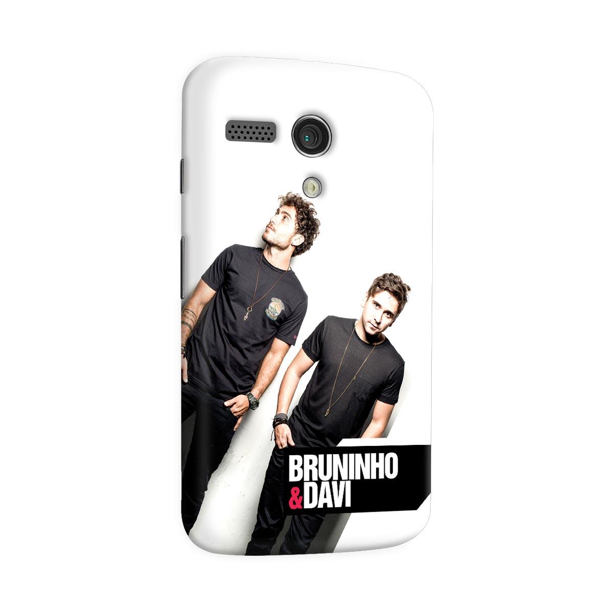 Capa para Motorola Moto G 1 Bruninho & Davi Foto
