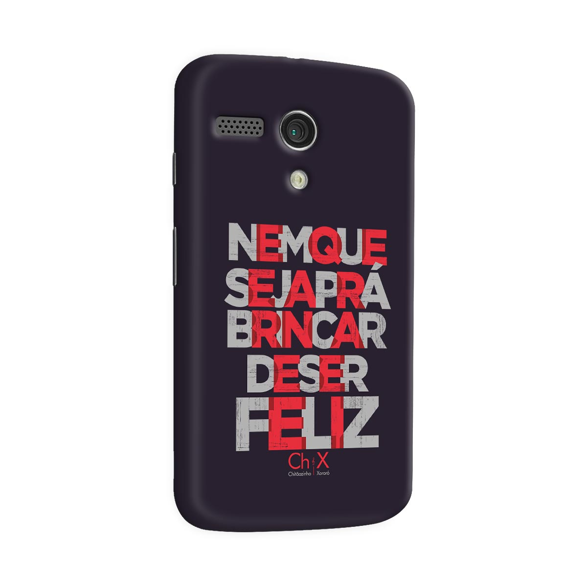 Capa para Motorola Moto G 1 Chitãozinho & Xororó Brincar de Ser Feliz