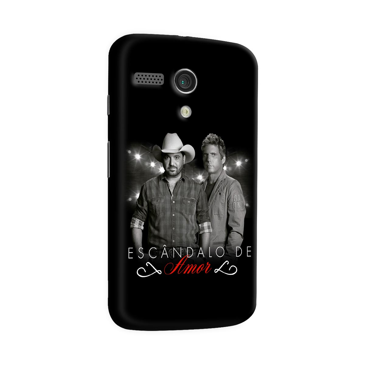Capa para Motorola Moto G 1 Edson & Hudson Escândalo de Amor Foto