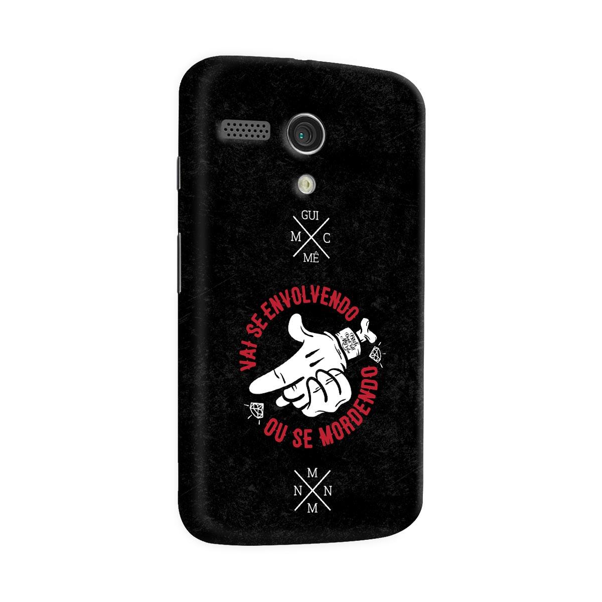 Capa para Motorola Moto G 1 MC Guim� Vai Se Envolvendo