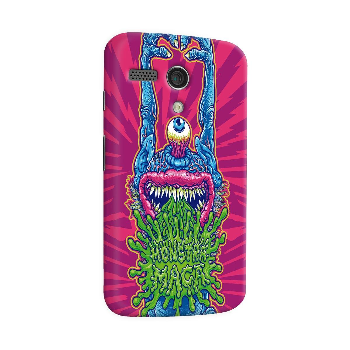 Capa para Motorola Moto G 1 Monstra Ma�� Puke