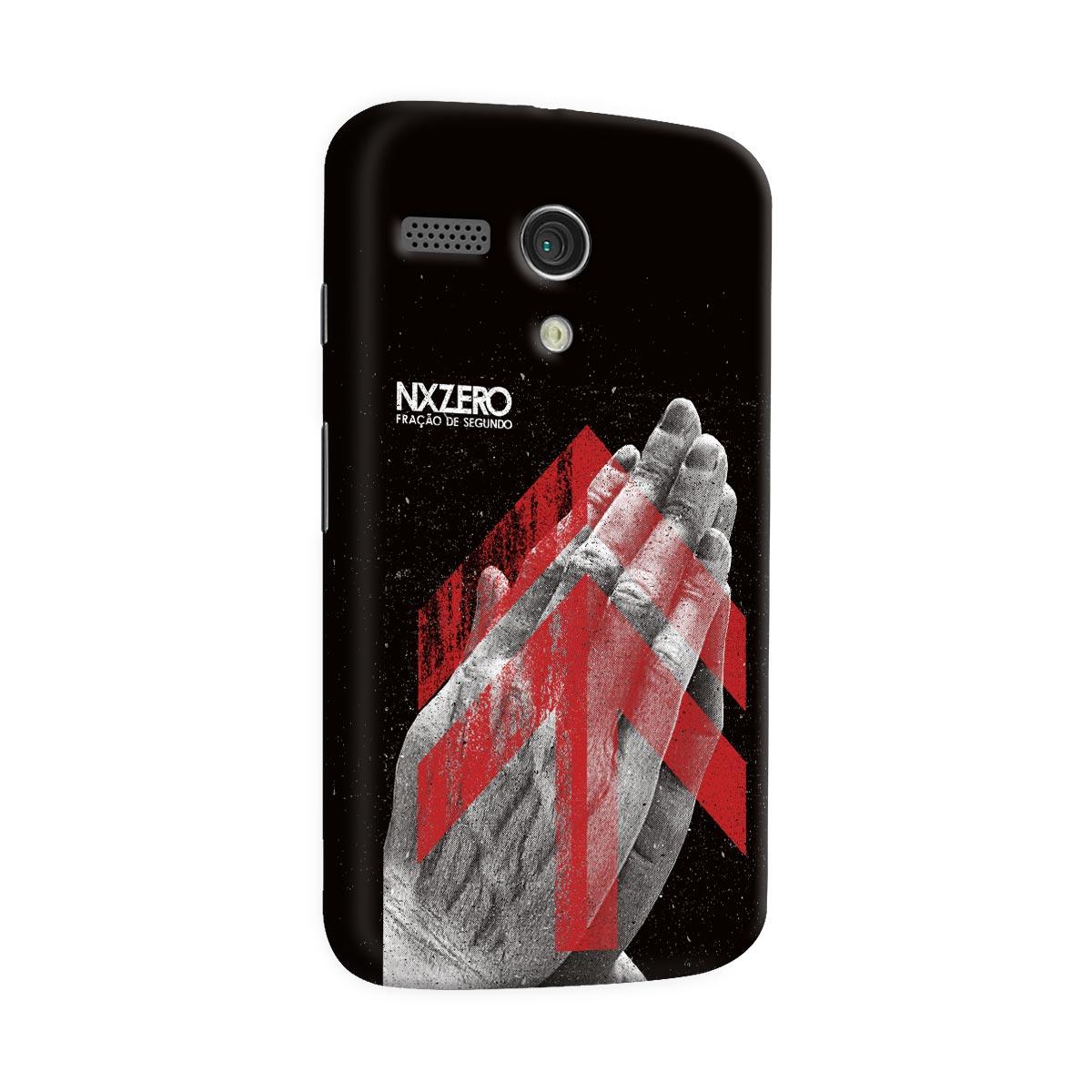 Capa para Motorola Moto G 1 NXZero Fração de Segundo
