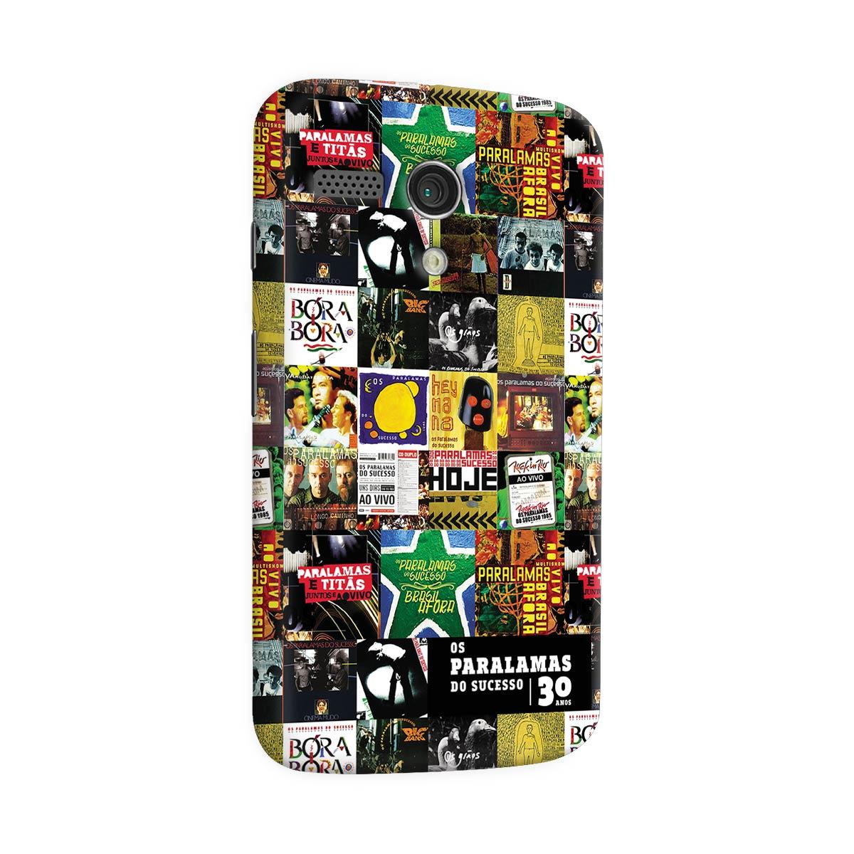 Capa para Motorola Moto G 1 Os Paralamas do Sucesso 30 Anos