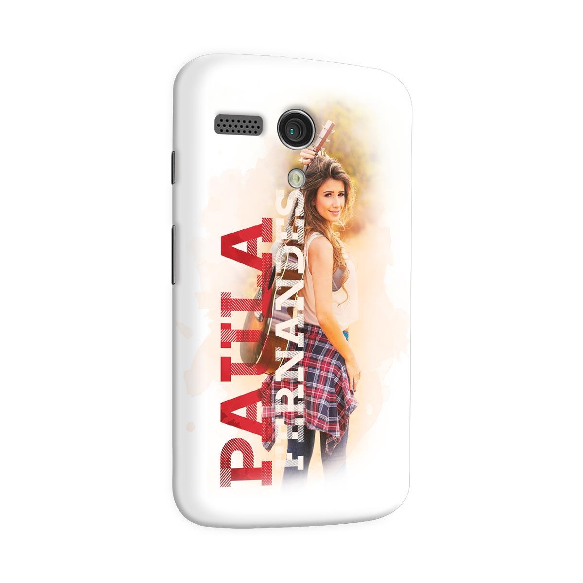 Capa para Motorola Moto G 1 Paula Fernandes Colors