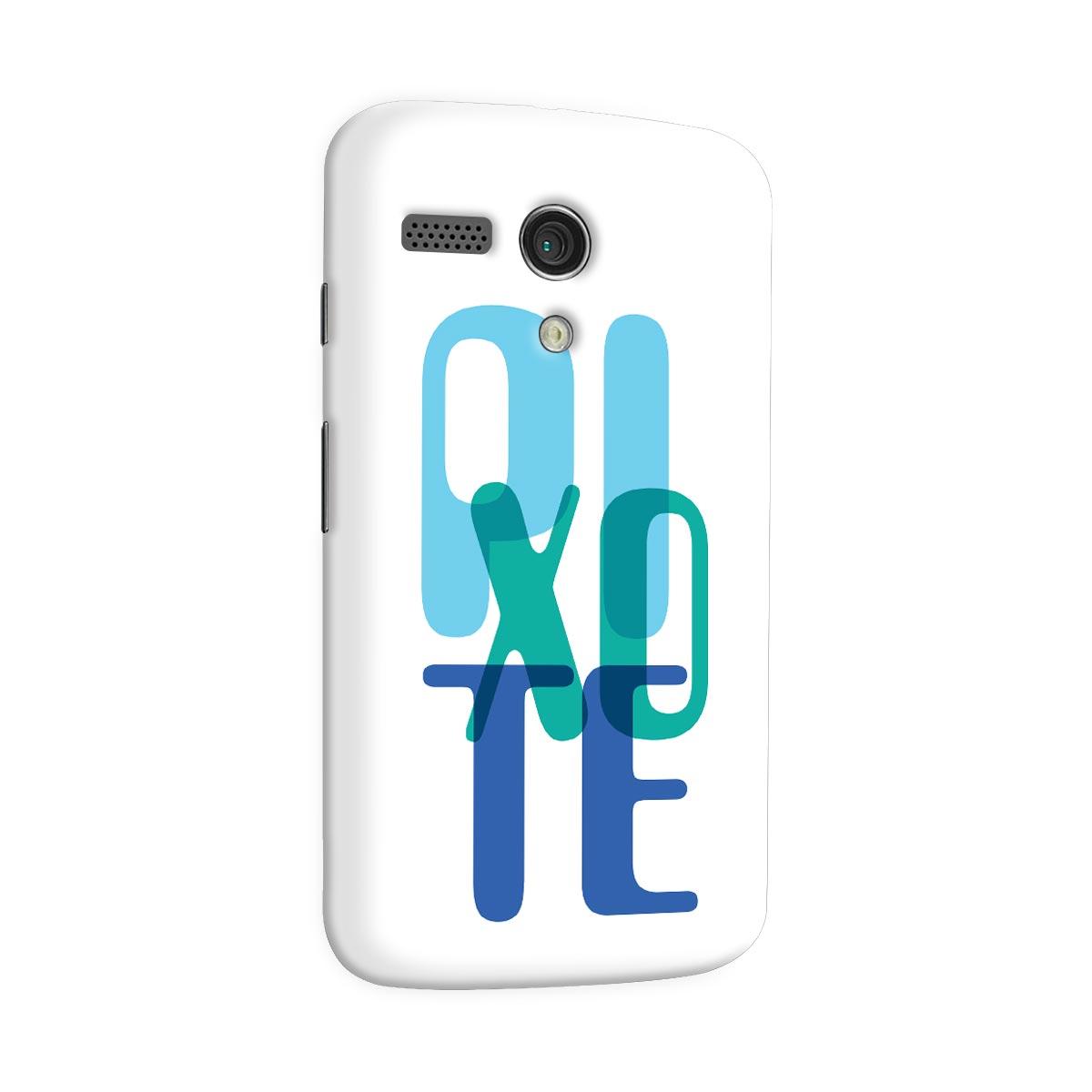 Capa para Motorola Moto G 1 Pixote Blue