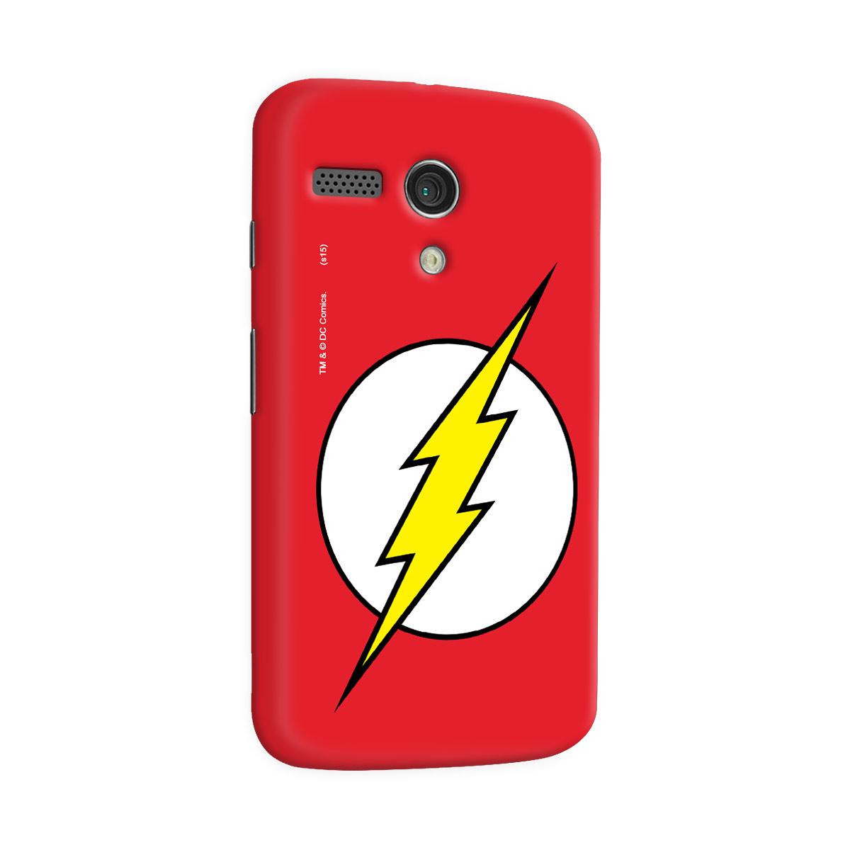 Capa para Motorola Moto G 1 The Flash Logo