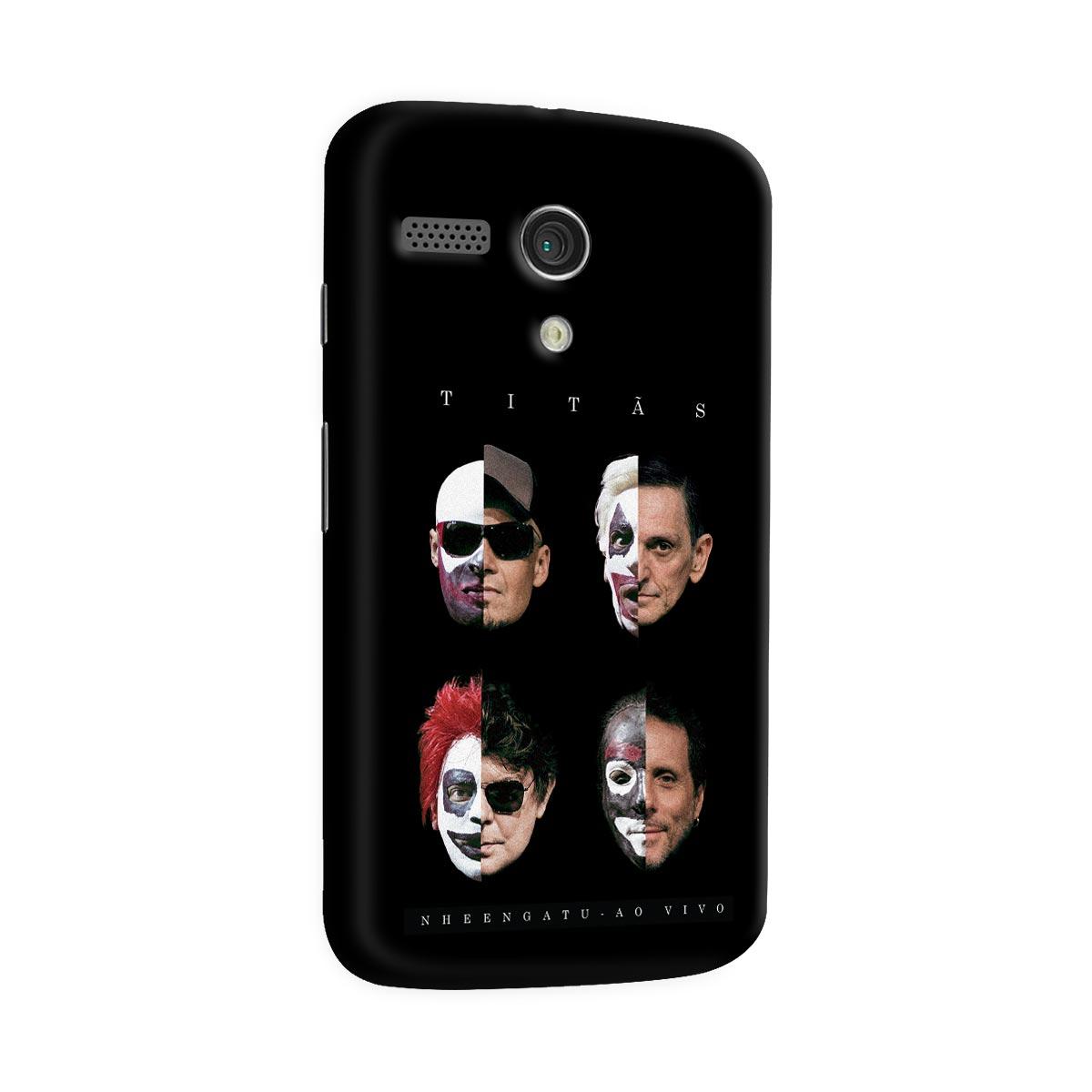 Capa para Motorola Moto G 1 Tit�s Capa Nheengatu Ao Vivo