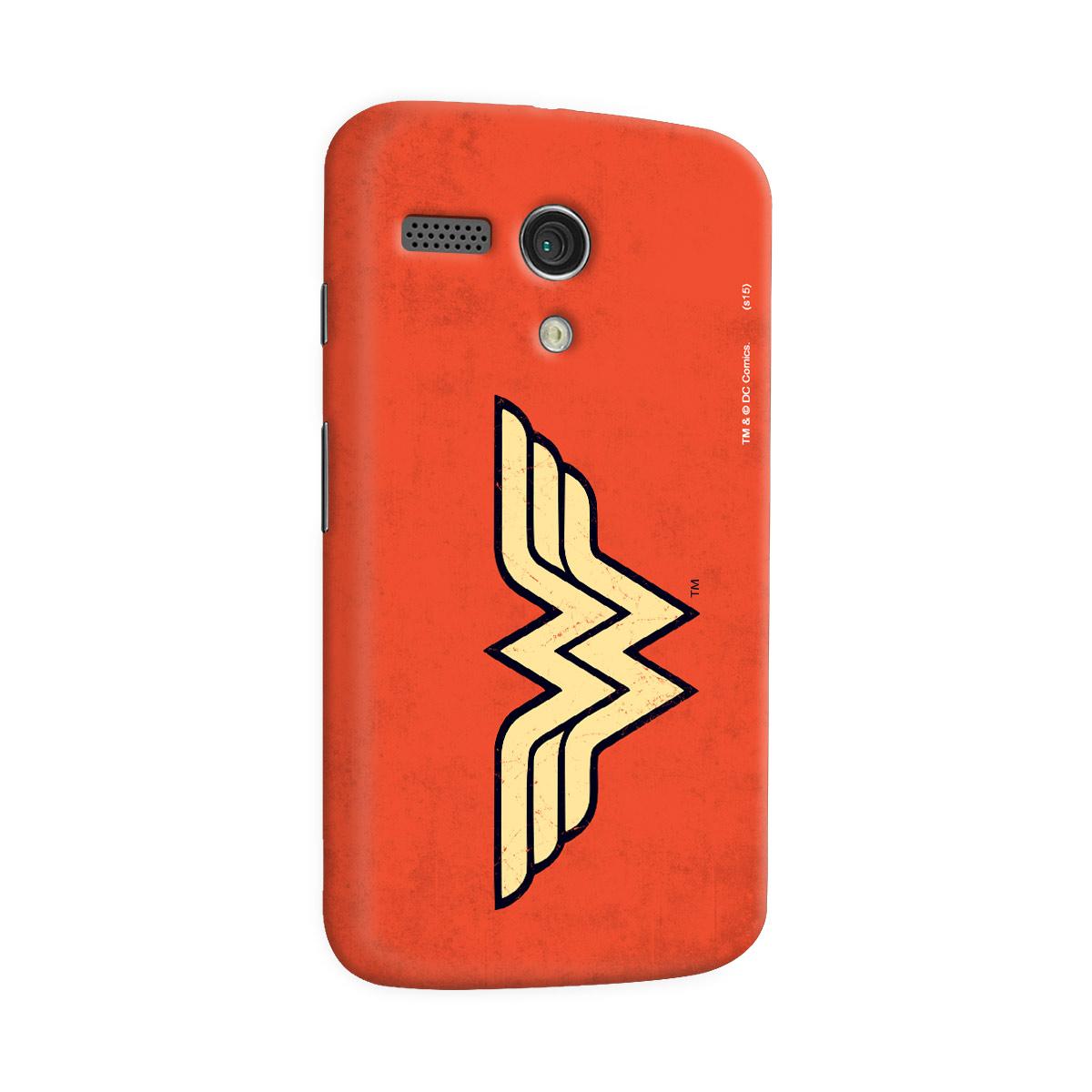 Capa para Motorola Moto G 1 Wonder Woman