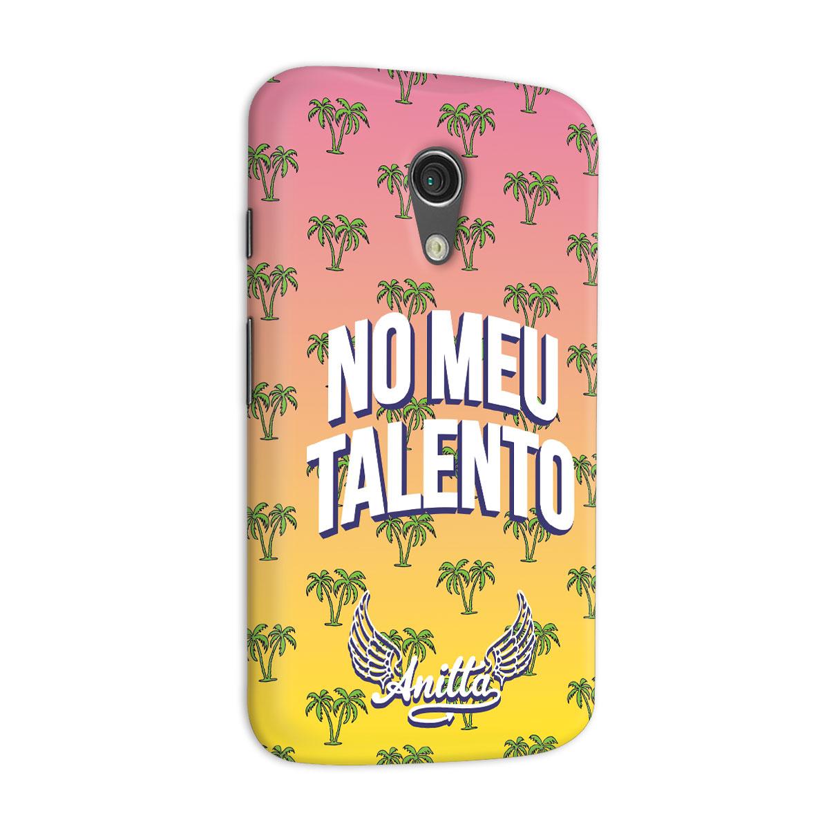 Capa para Motorola Moto G 2 Anitta No Meu Talento